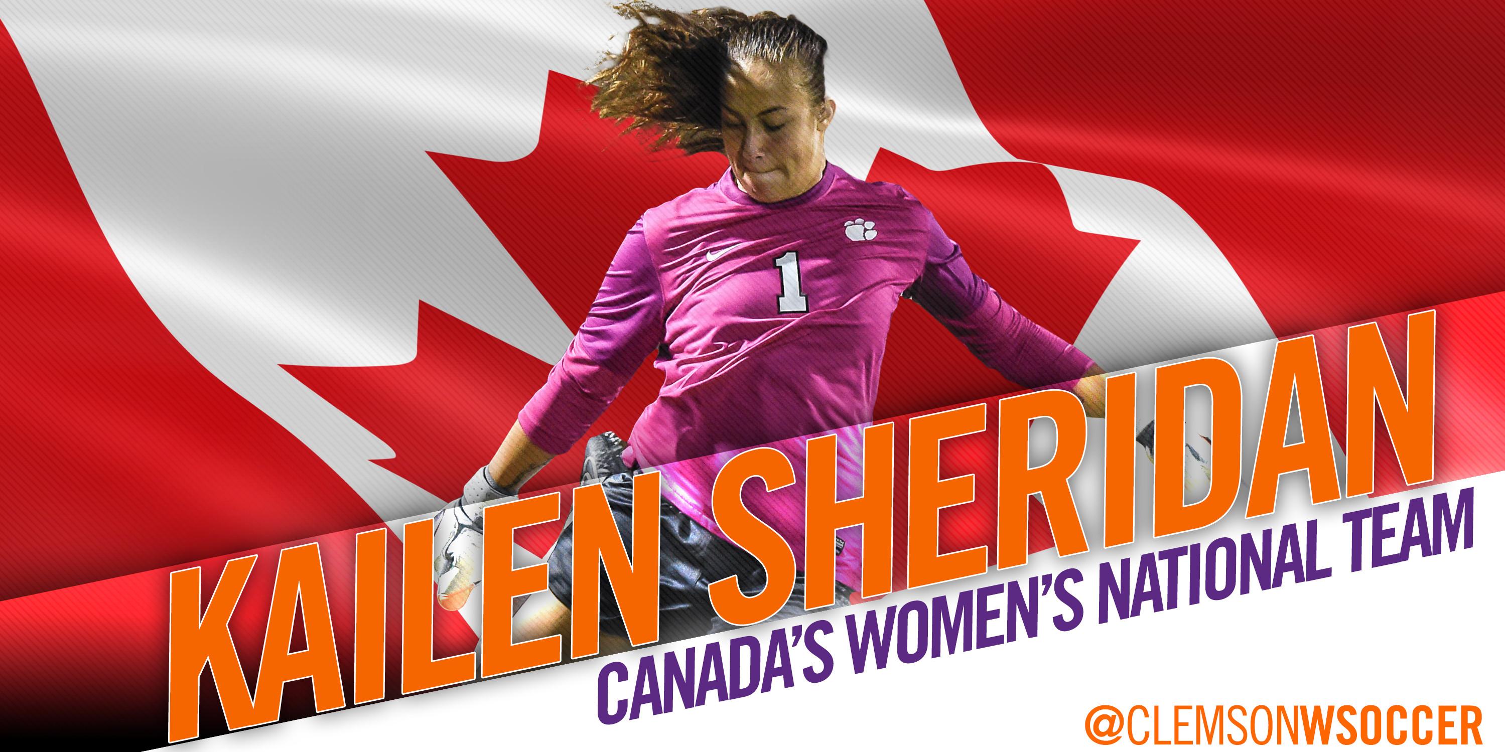 Sheridan joins National Team