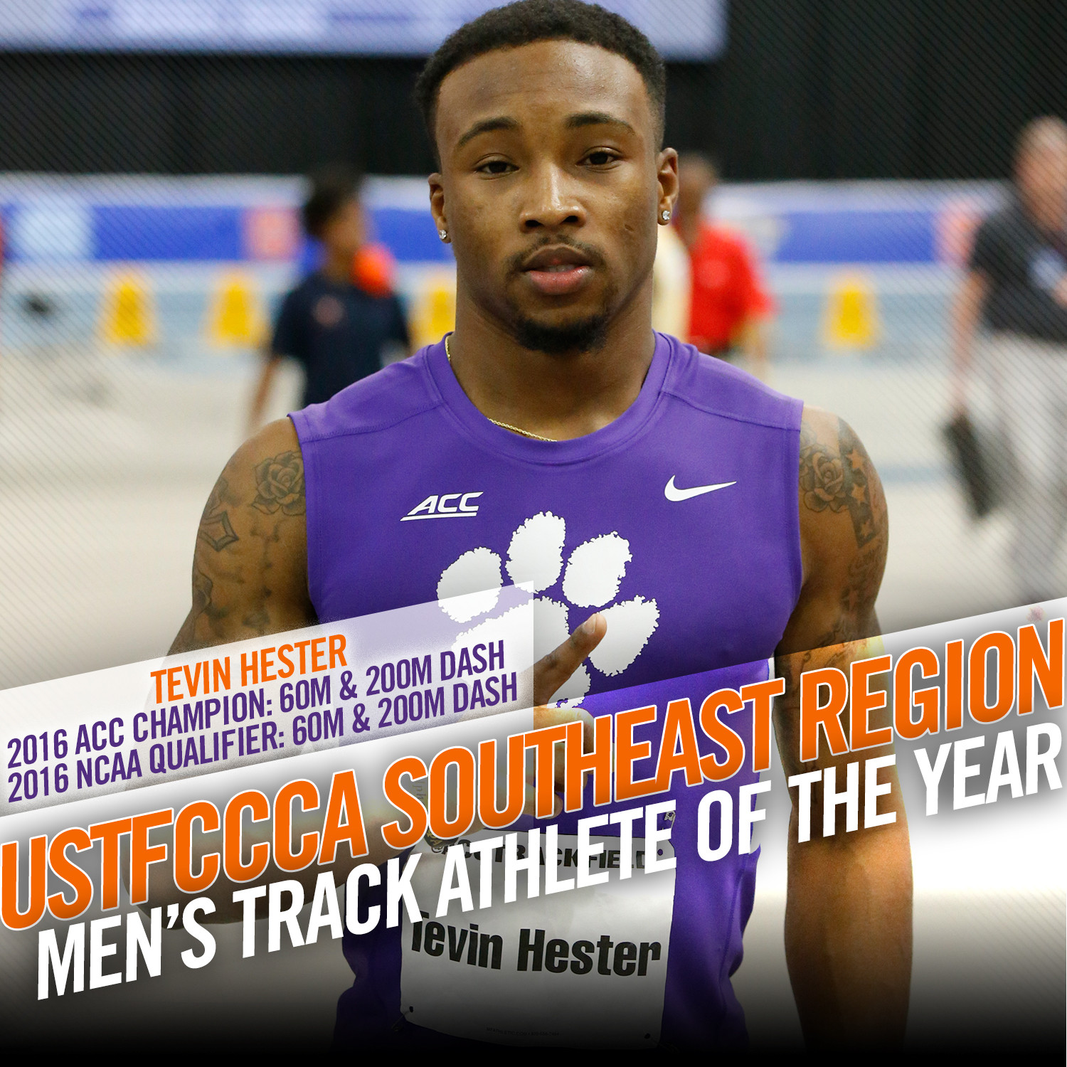 Hester Honored By USTFCCCA
