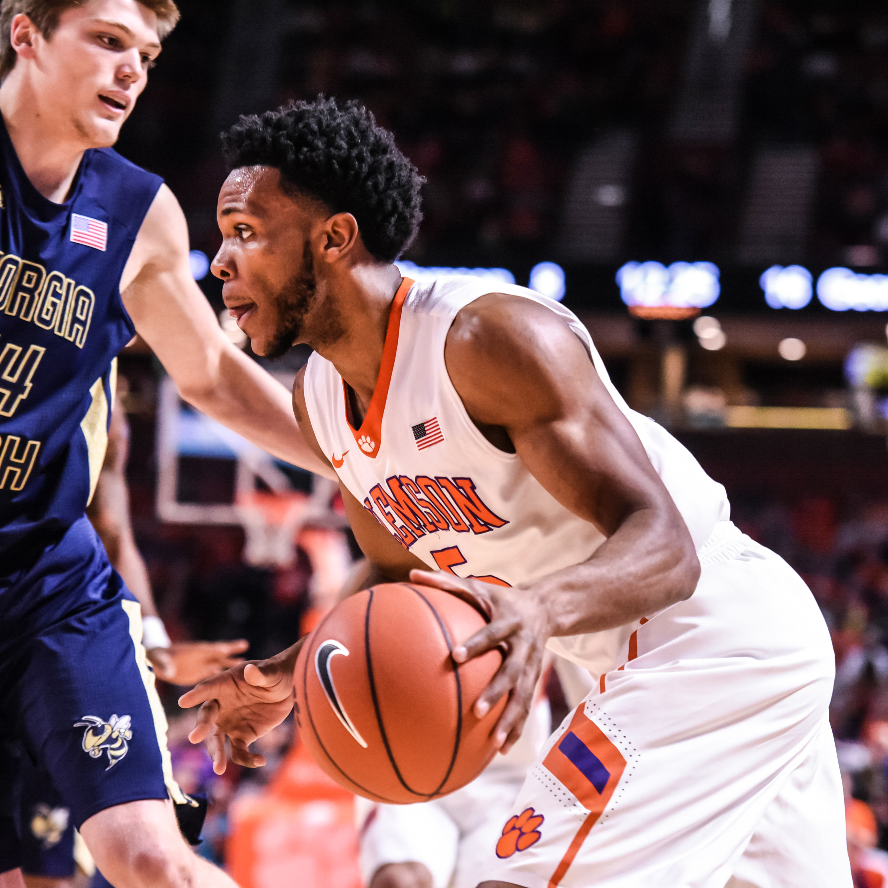 Clemson Faces Georgia Tech in ACC Tourney