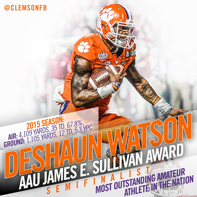 Watson Semifinalist for Sullivan Award