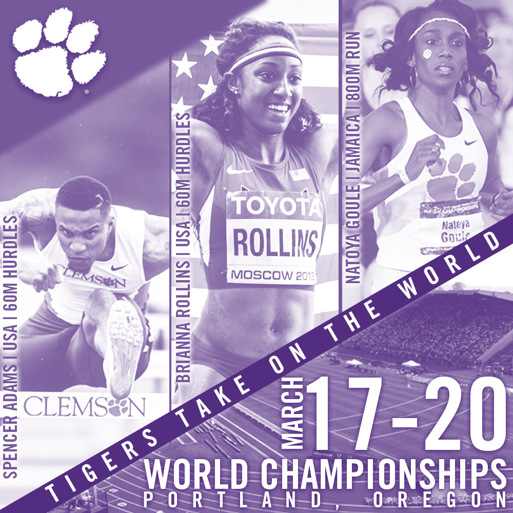 Three Former Tigers to Compete at IAAF World Indoor Championships