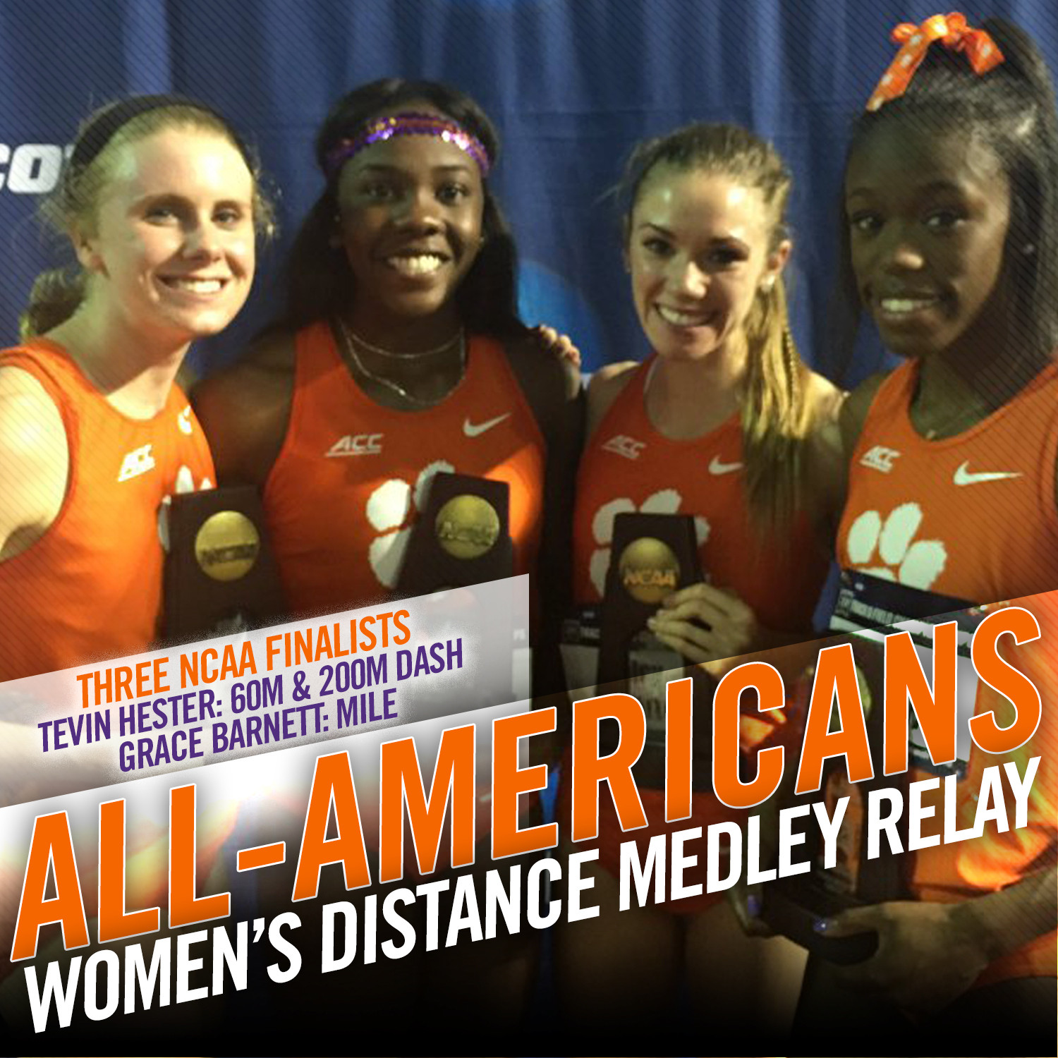 Women?s DMR Earns First Team All-American Honors