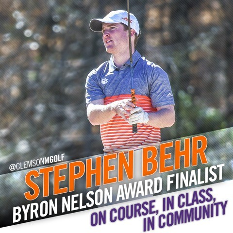 Behr Named Finalist for Nelson Award