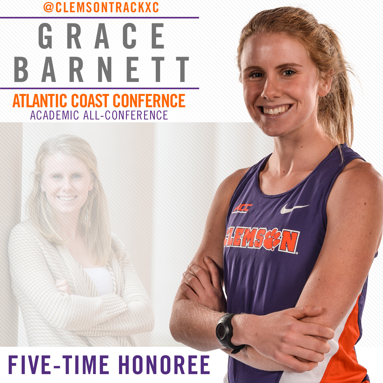 Barnett Earns Fifth Academic All-Conference Honor