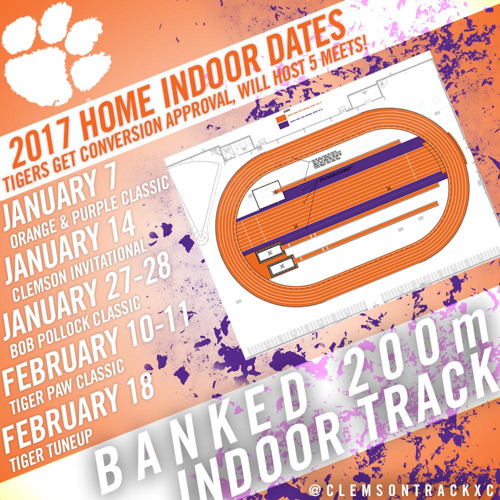 Clemson to Convert Indoor Track