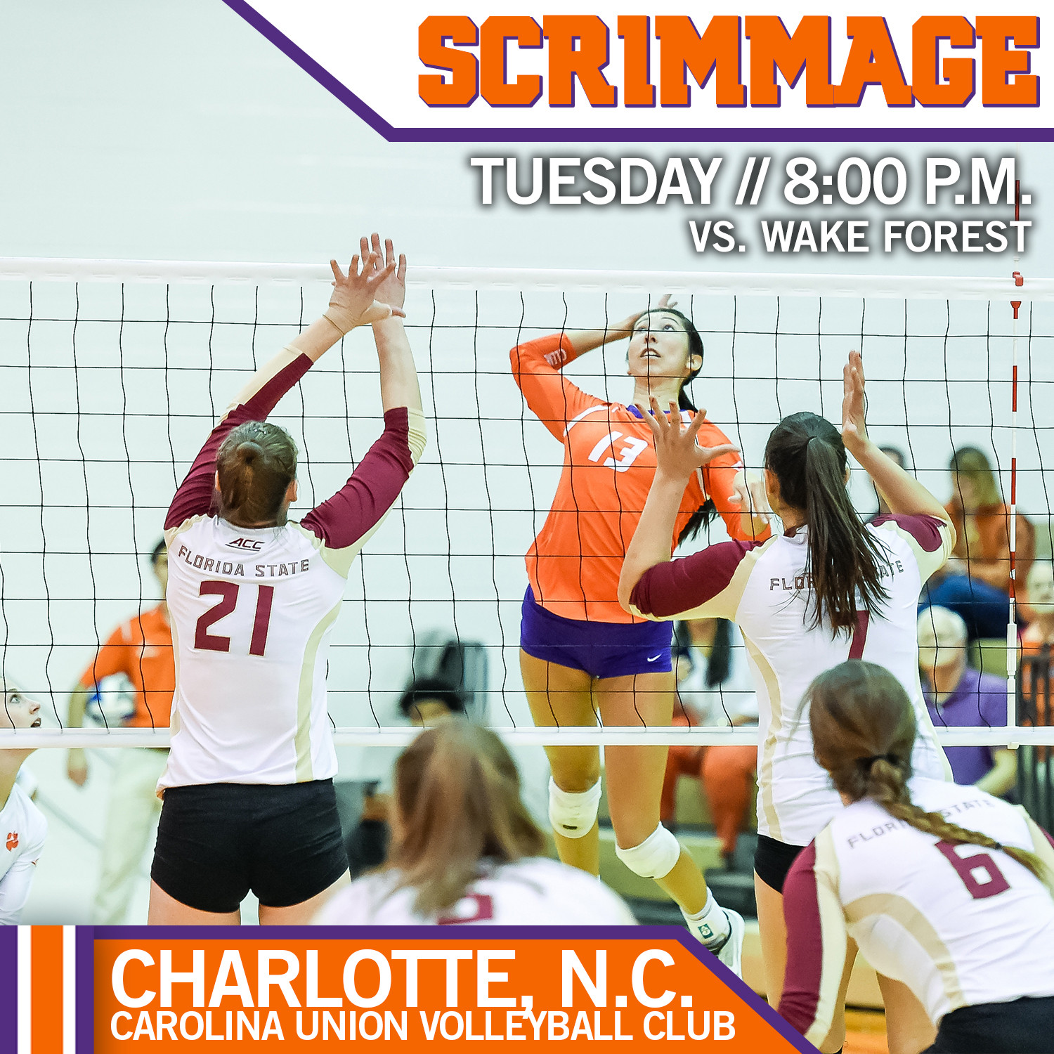 Volleyball Set For Spring Matchup With Wake Forest