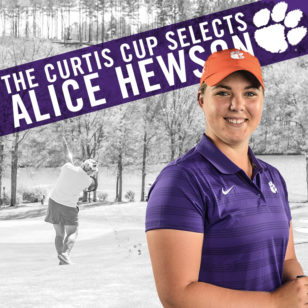 Hewson Named to GB&I Curtis Cup Team
