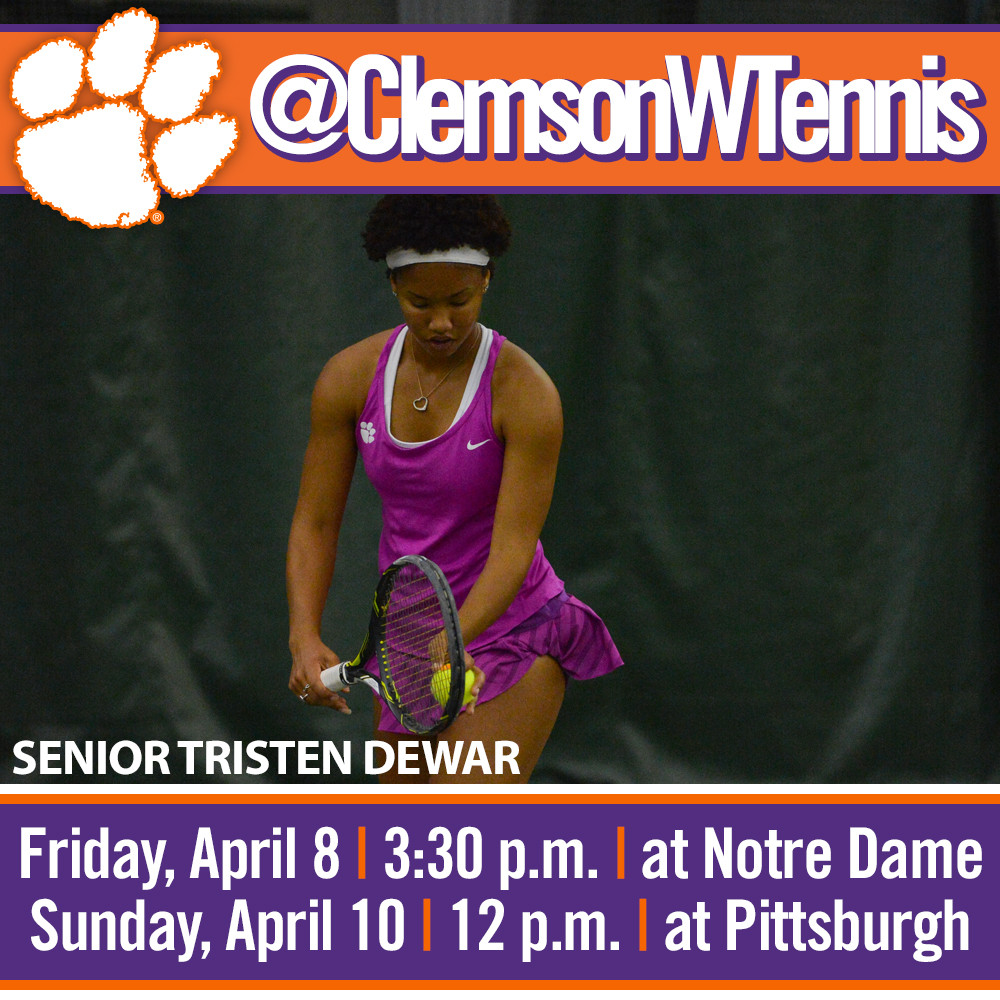 Tigers Face Notre Dame Friday, Pitt Sunday on the Road
