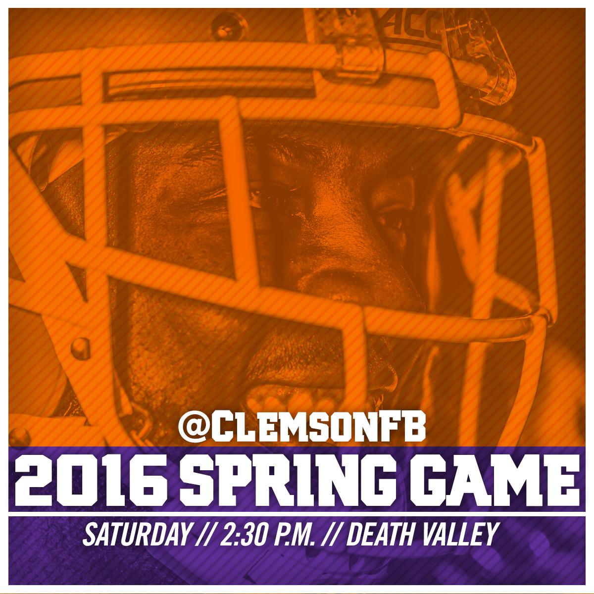 2016 Spring Game Weekend