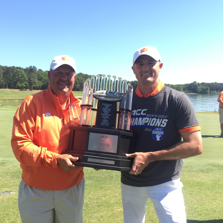 Clemson Wins 10th ACC Men's Golf Championship