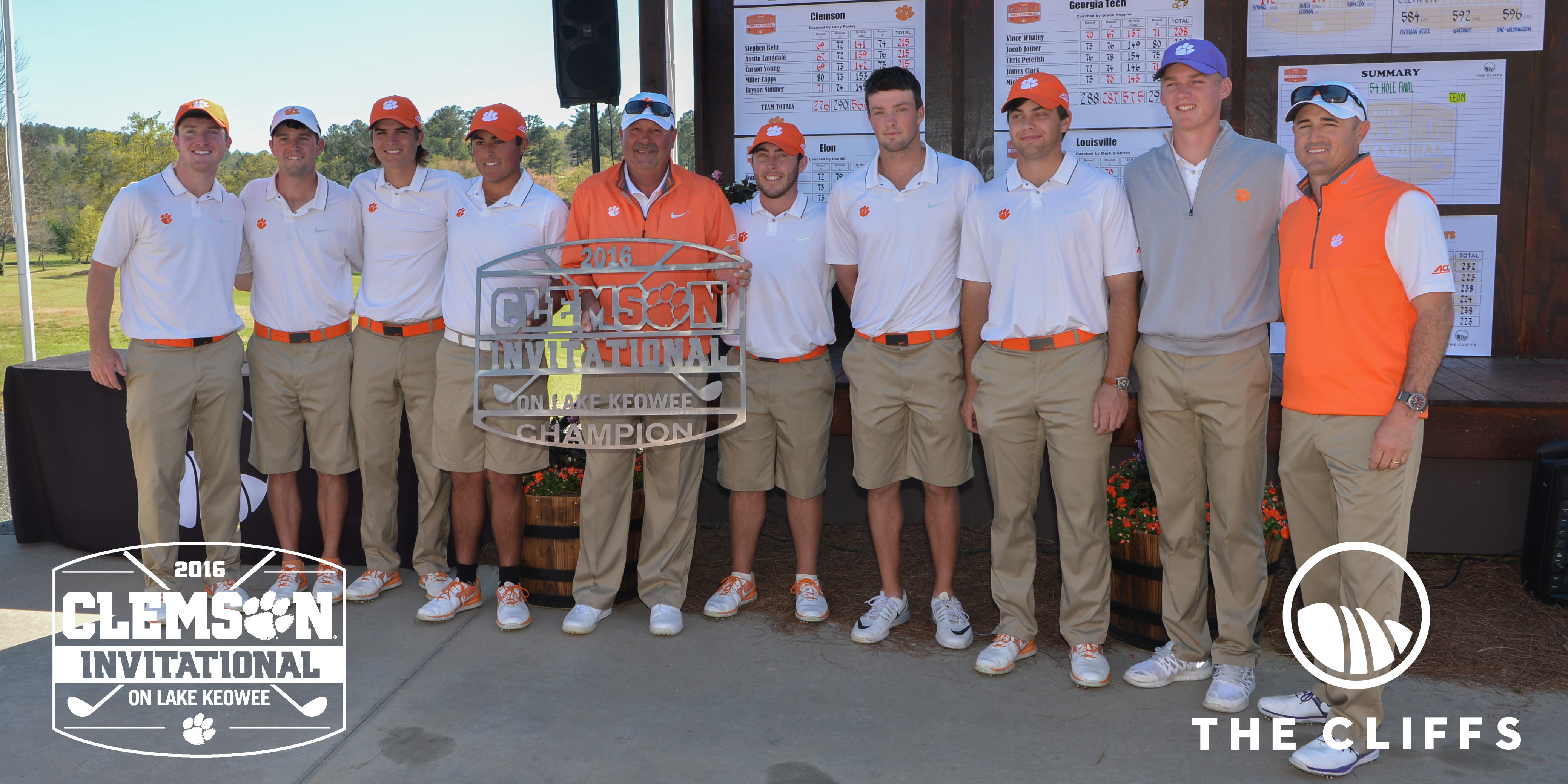 Tigers Win Clemson Invitational by 11 Shots