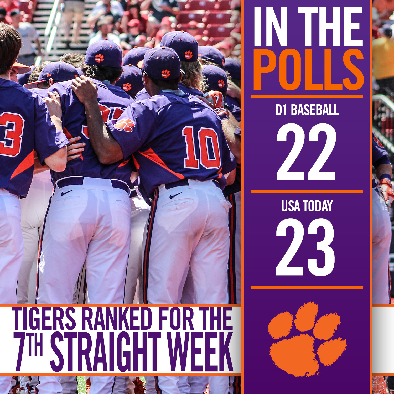 Tigers Ranked Again