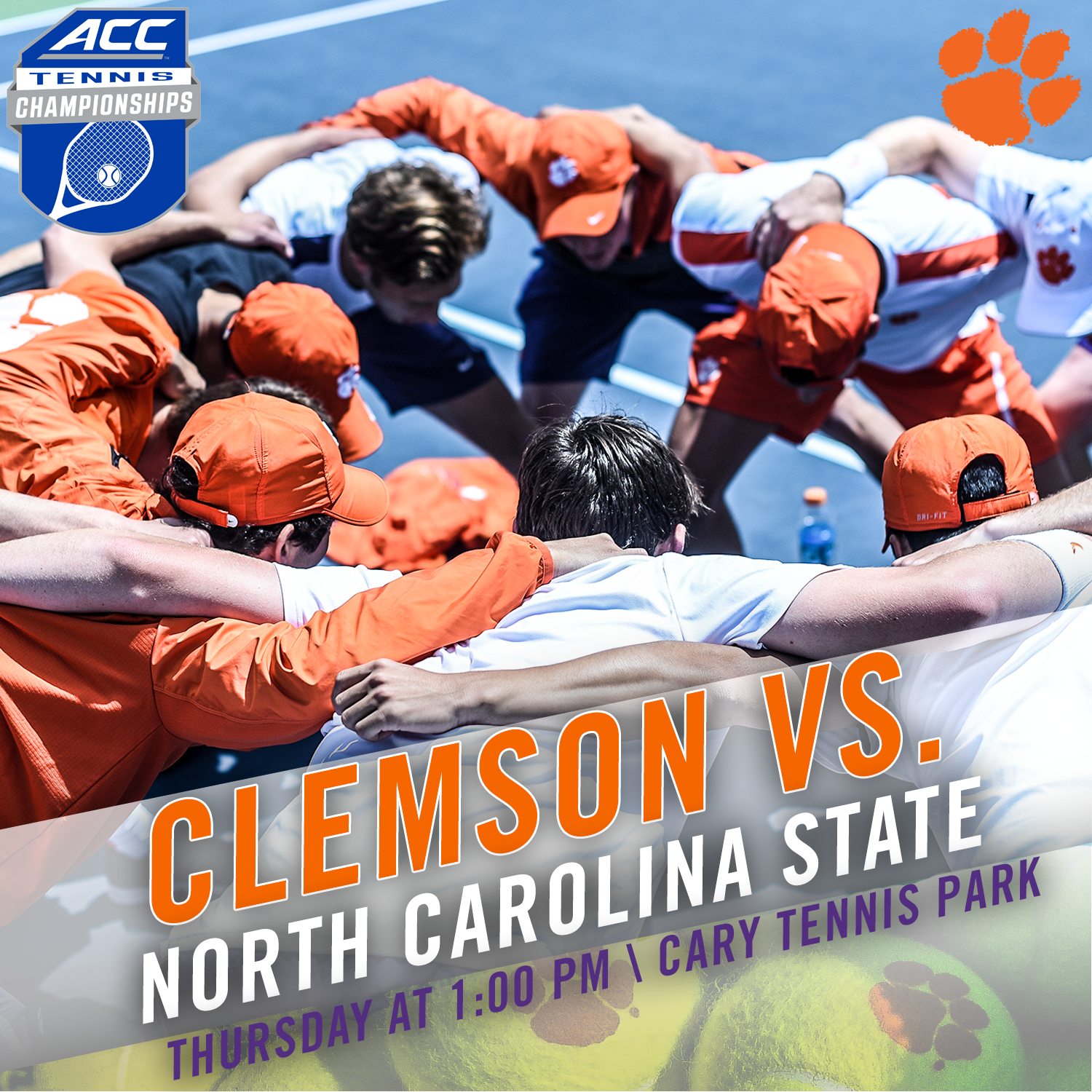 Clemson Faces NC State in Second Round of 2016 ACC Tournament Thursday