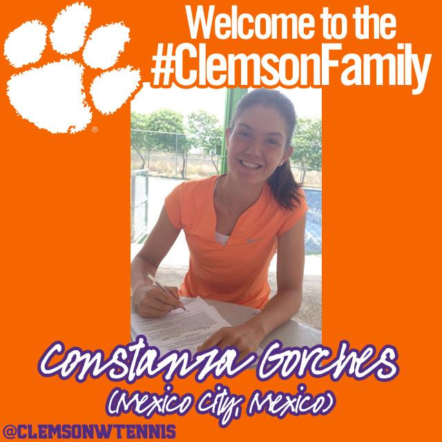 Gorches Signs with Clemson Women?s Tennis