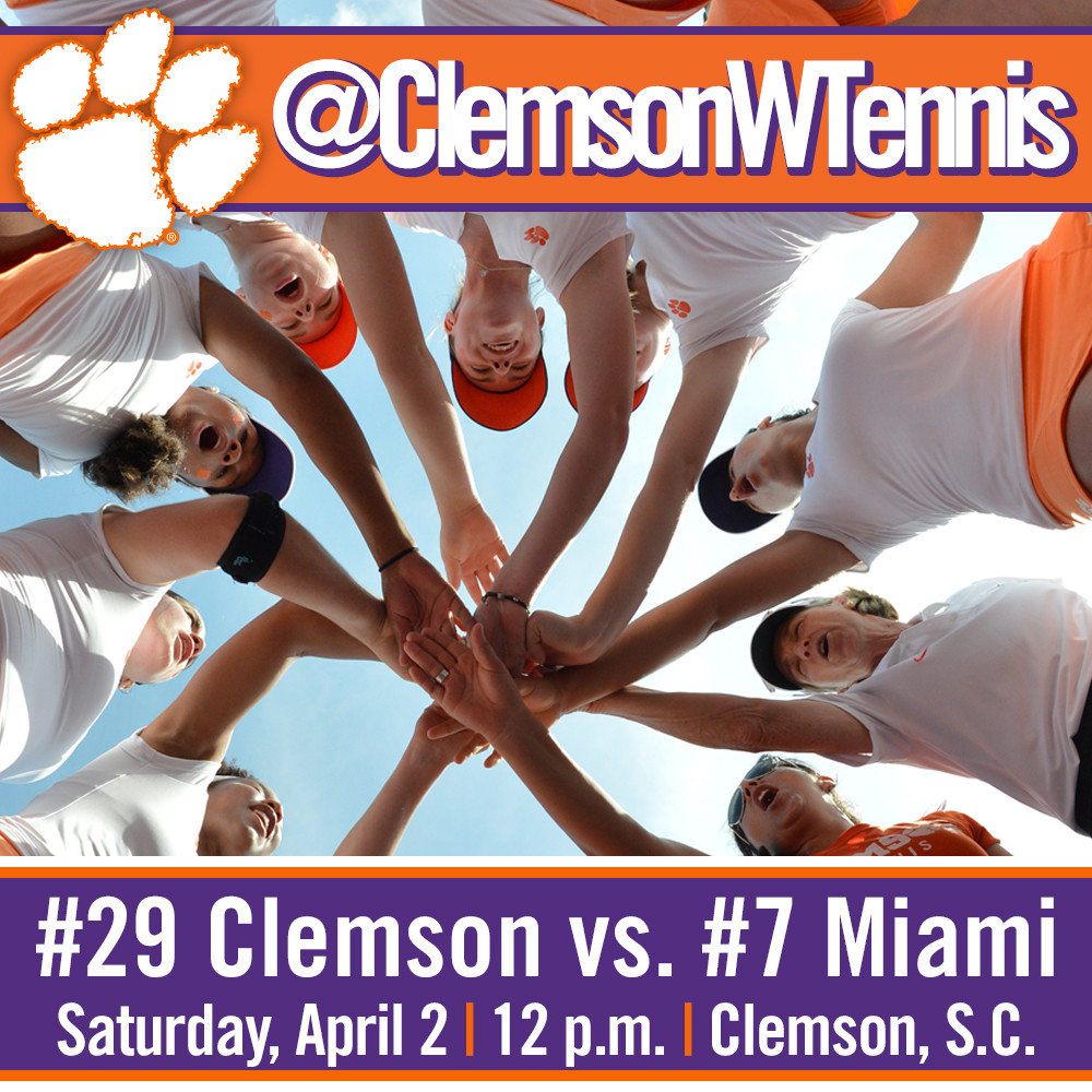 Tigers Host Top-10 Miami Saturday