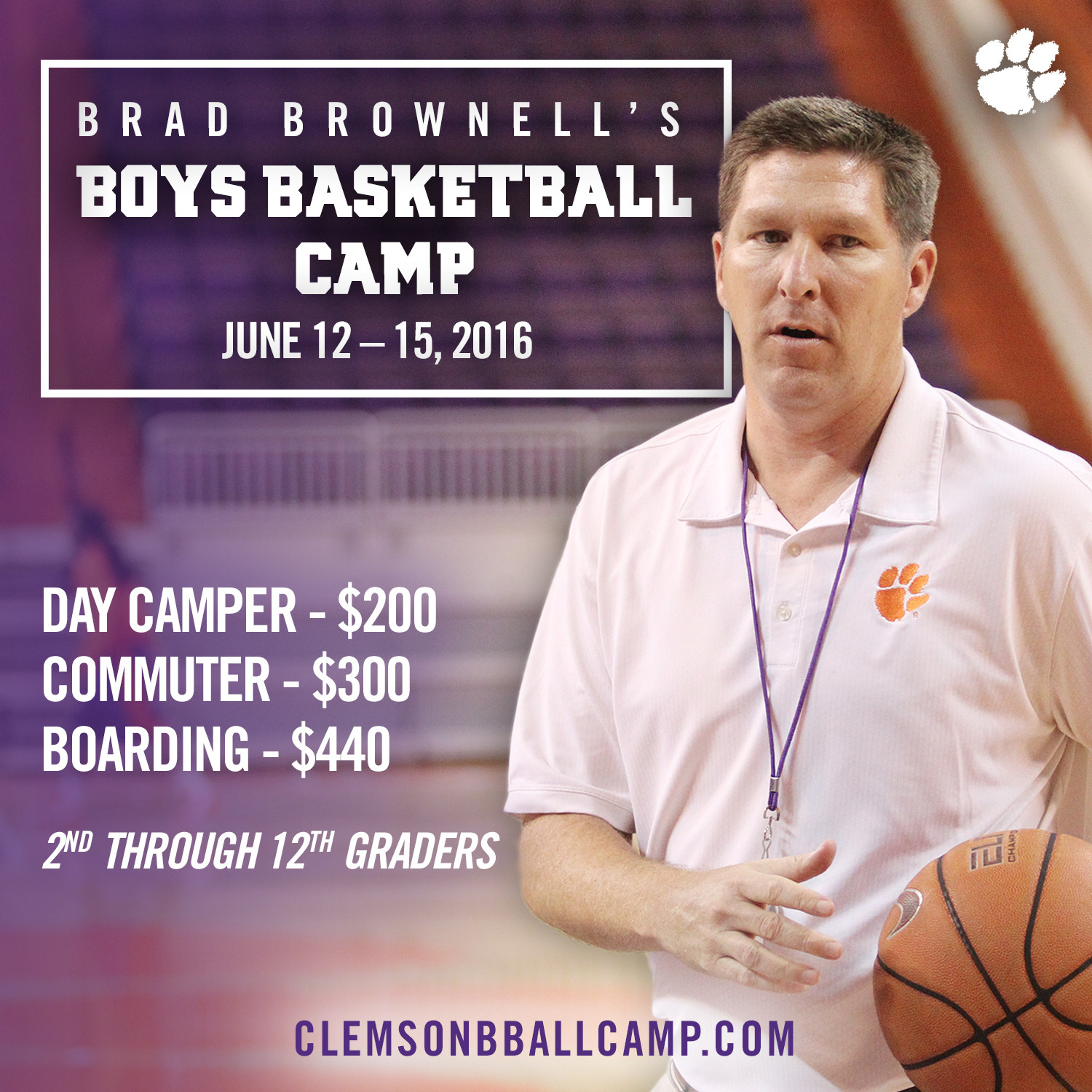 2016 Basketball Camp Offerings