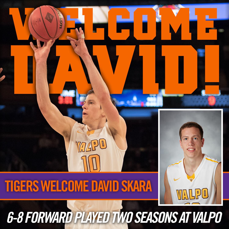 Tigers Add Transfer David Skara