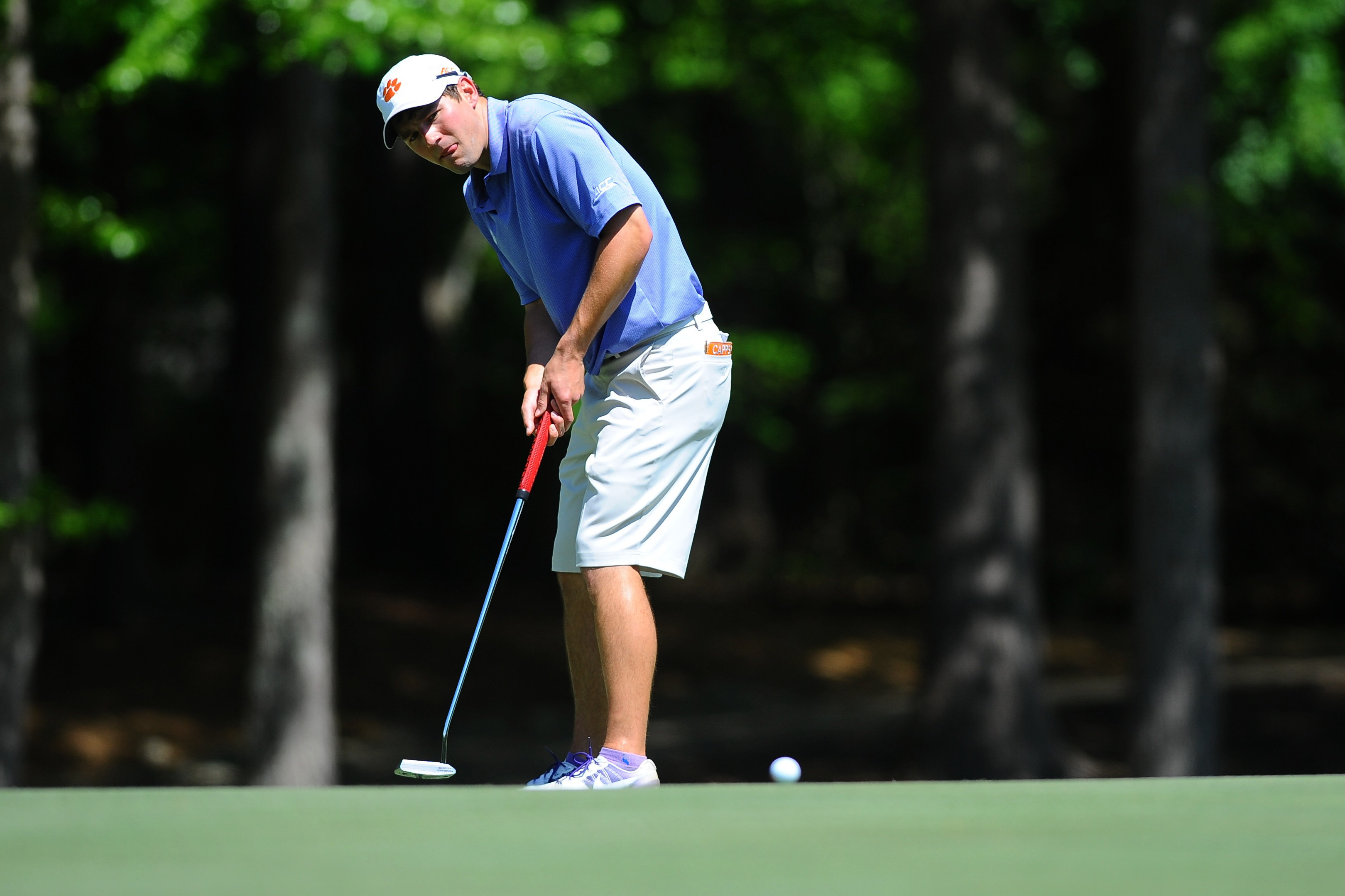 Behr Tied for 15th after Two Rounds at NCAA Golf