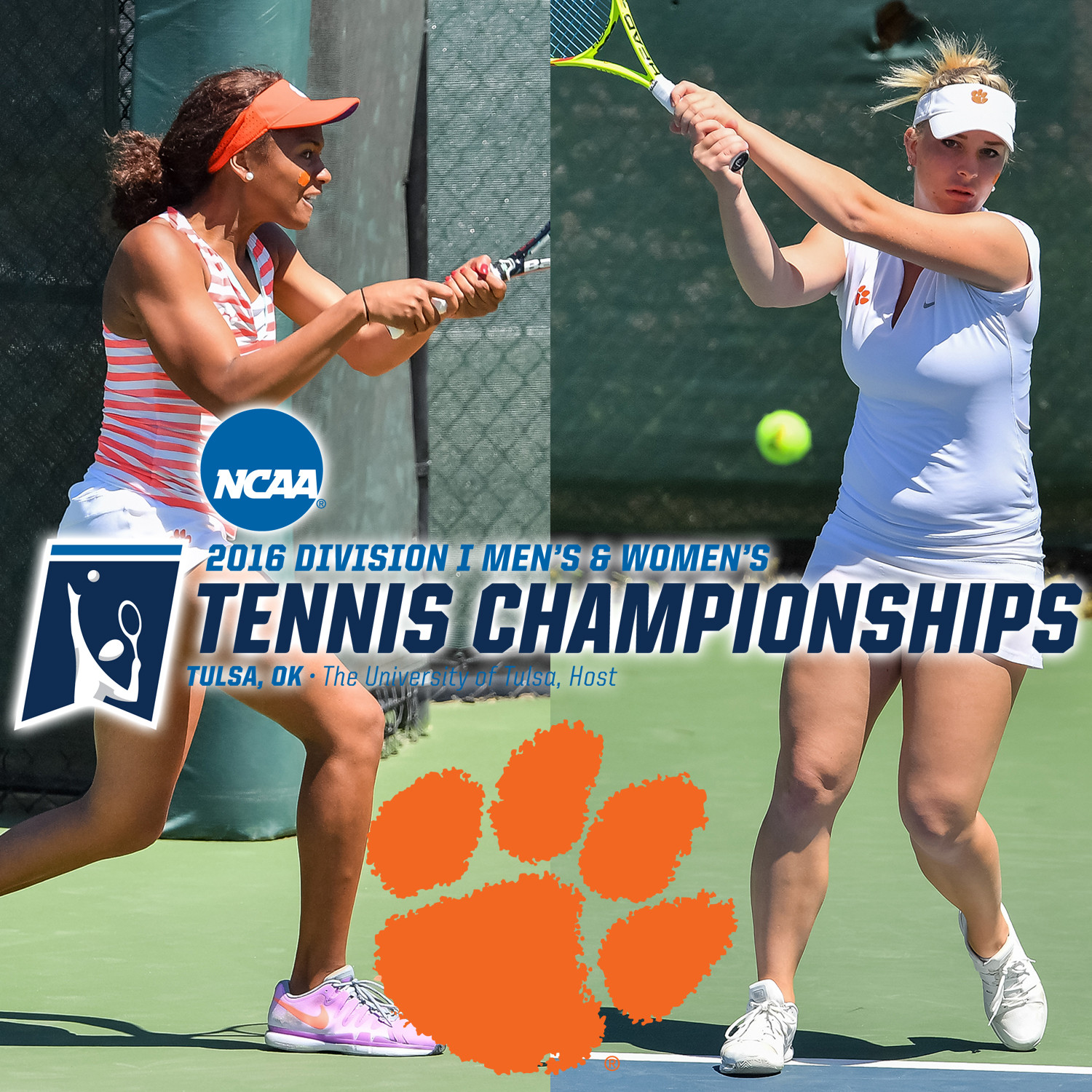 Two Tigers Selected for NCAA Singles Championship