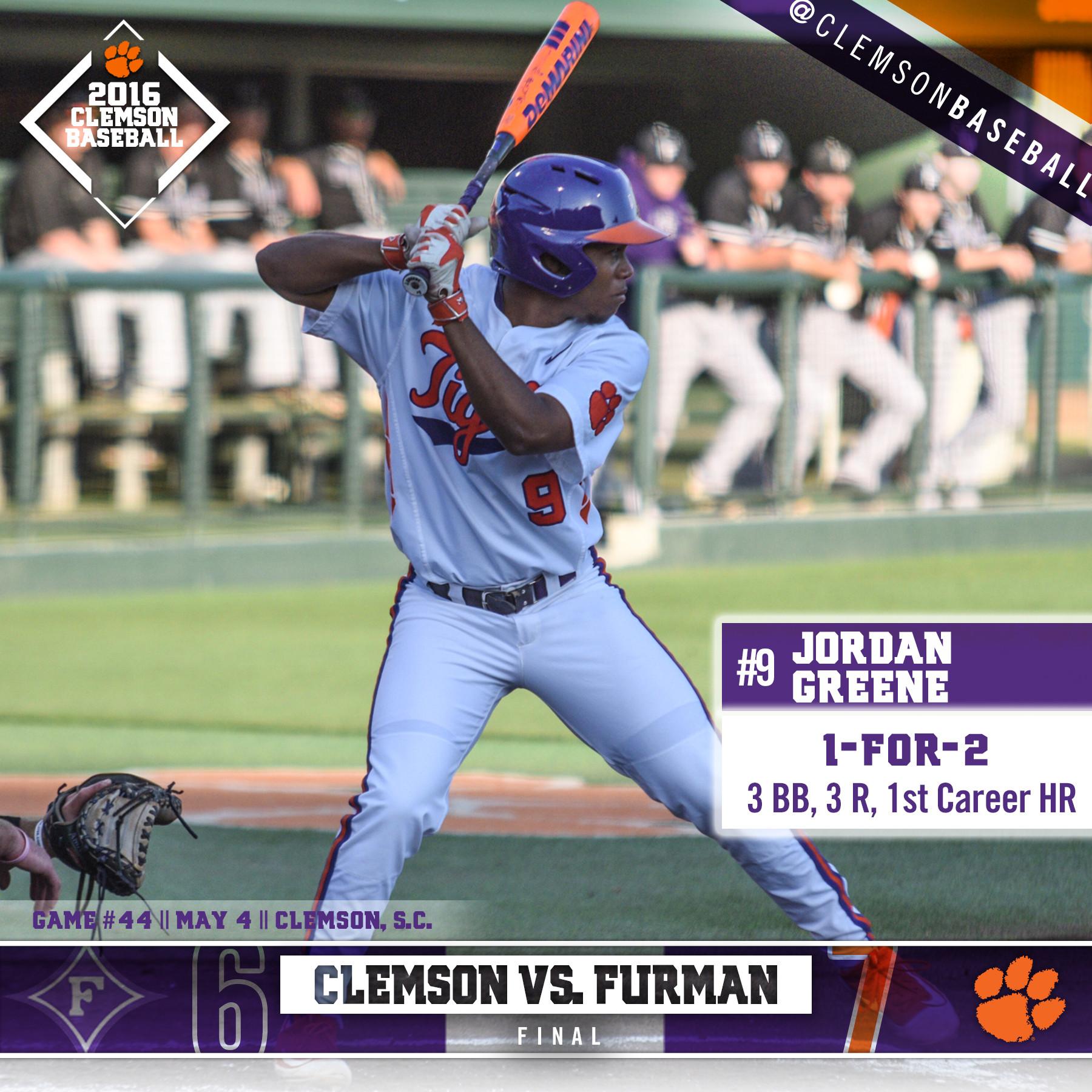 Clemson Edges Furman 7-6 In 11