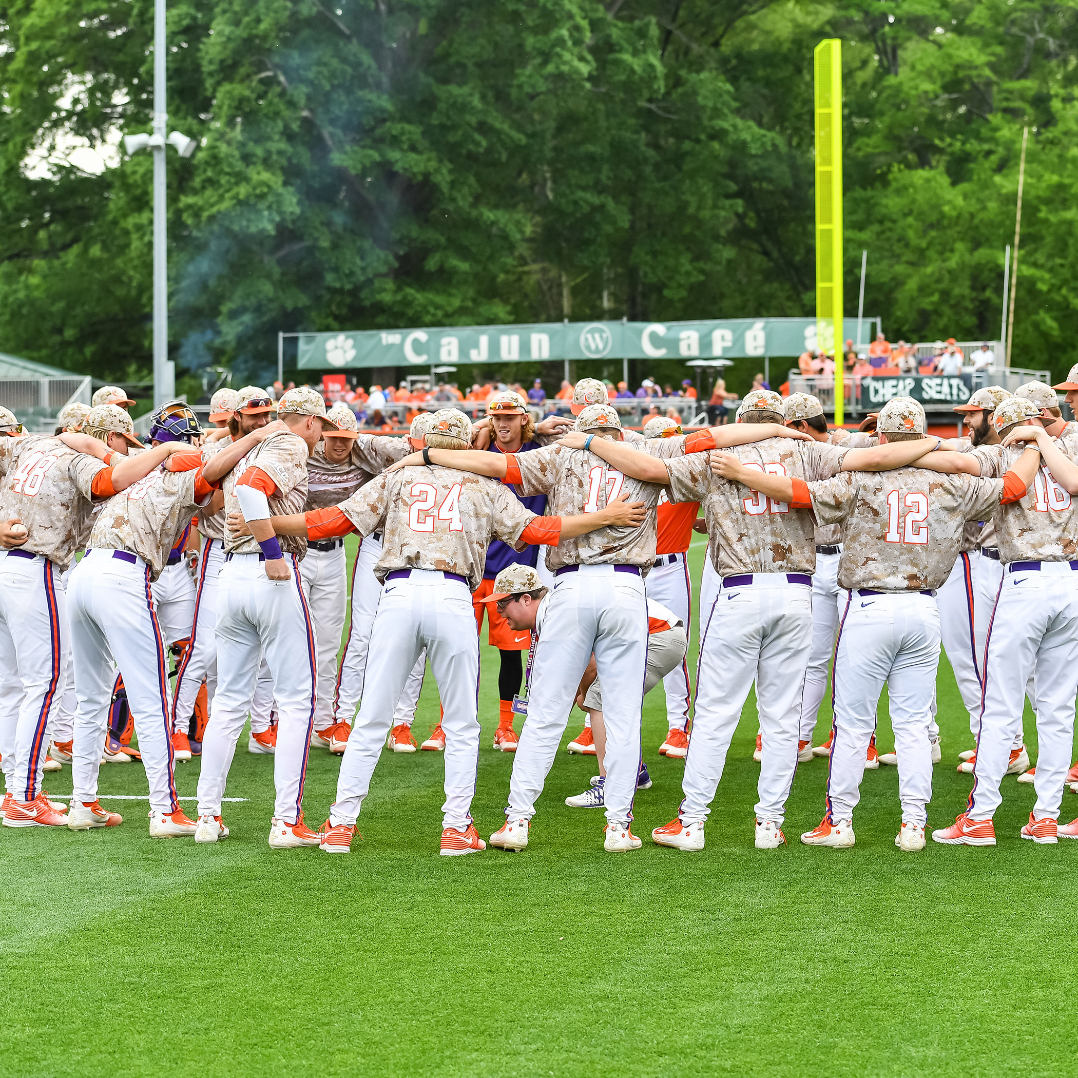 Tigers To Play No. 9 Wolfpack