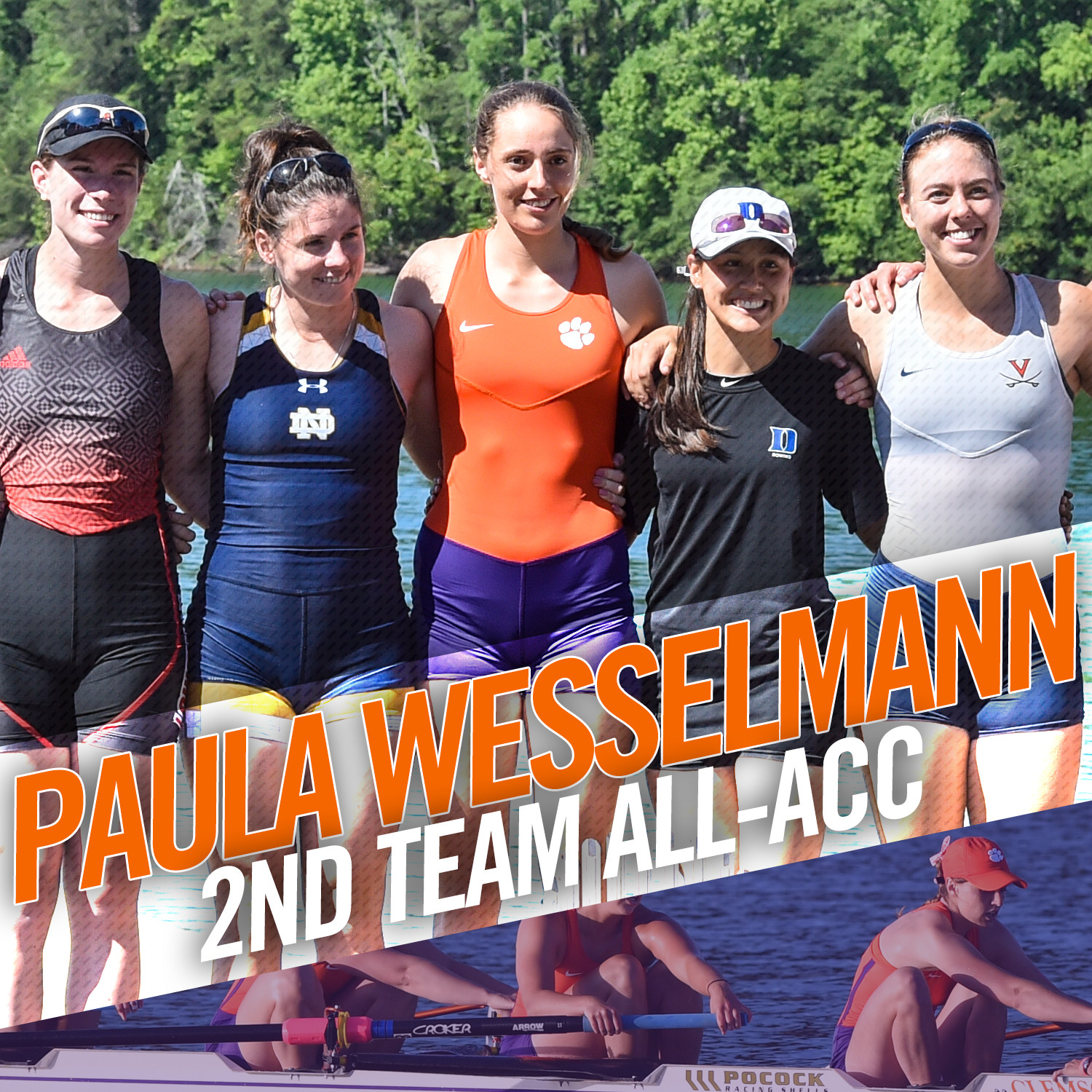 Tigers Sixth at ACC; Wesselmann Honored