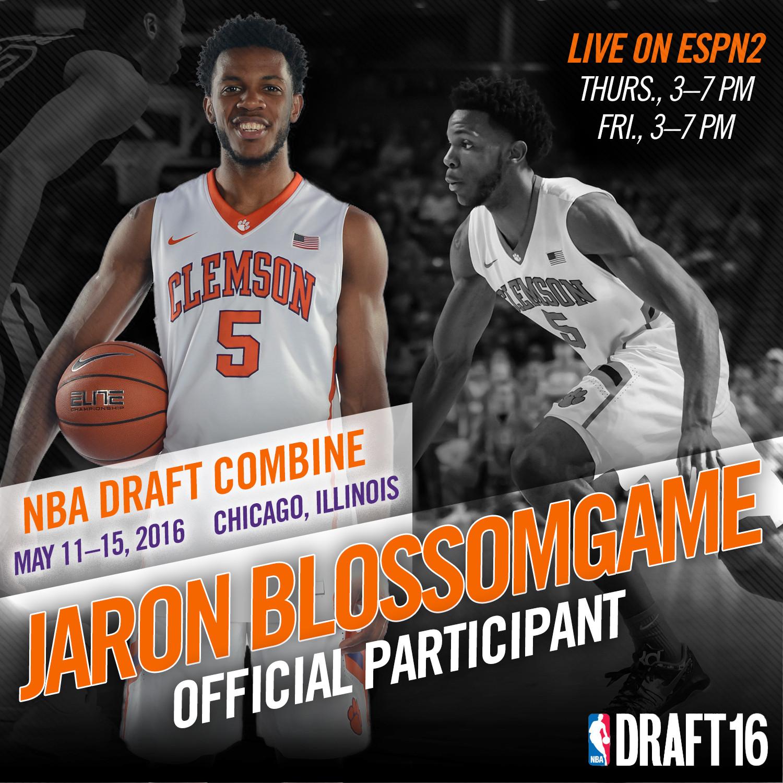 Blossomgame Heads to NBA Draft Combine