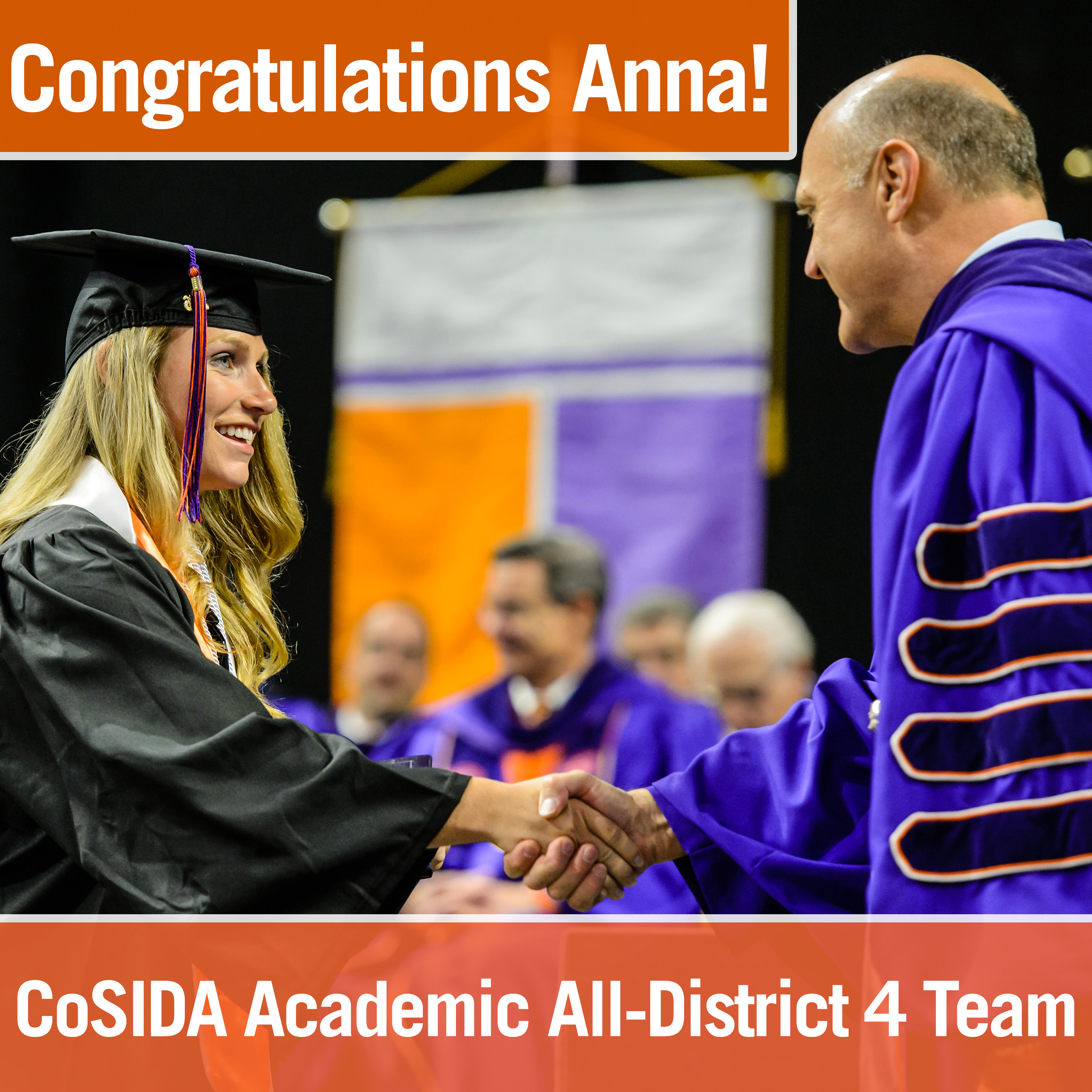 Skochdopole named to CoSIDA All-District Team