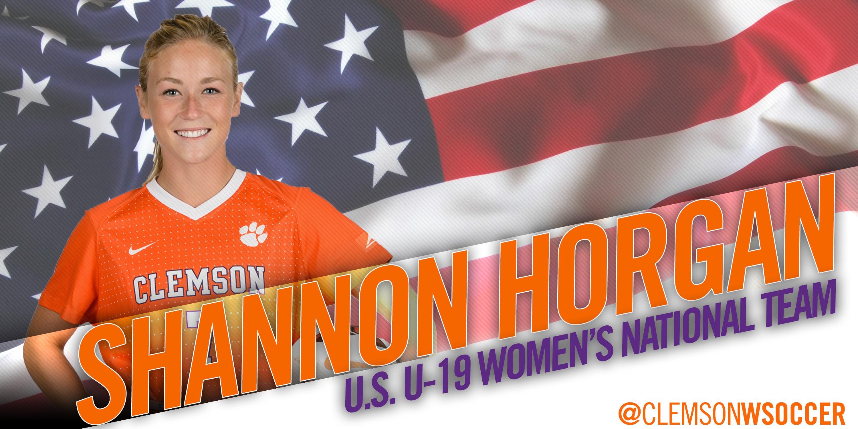 Horgan to travel to New Zealand with U-19 WNT
