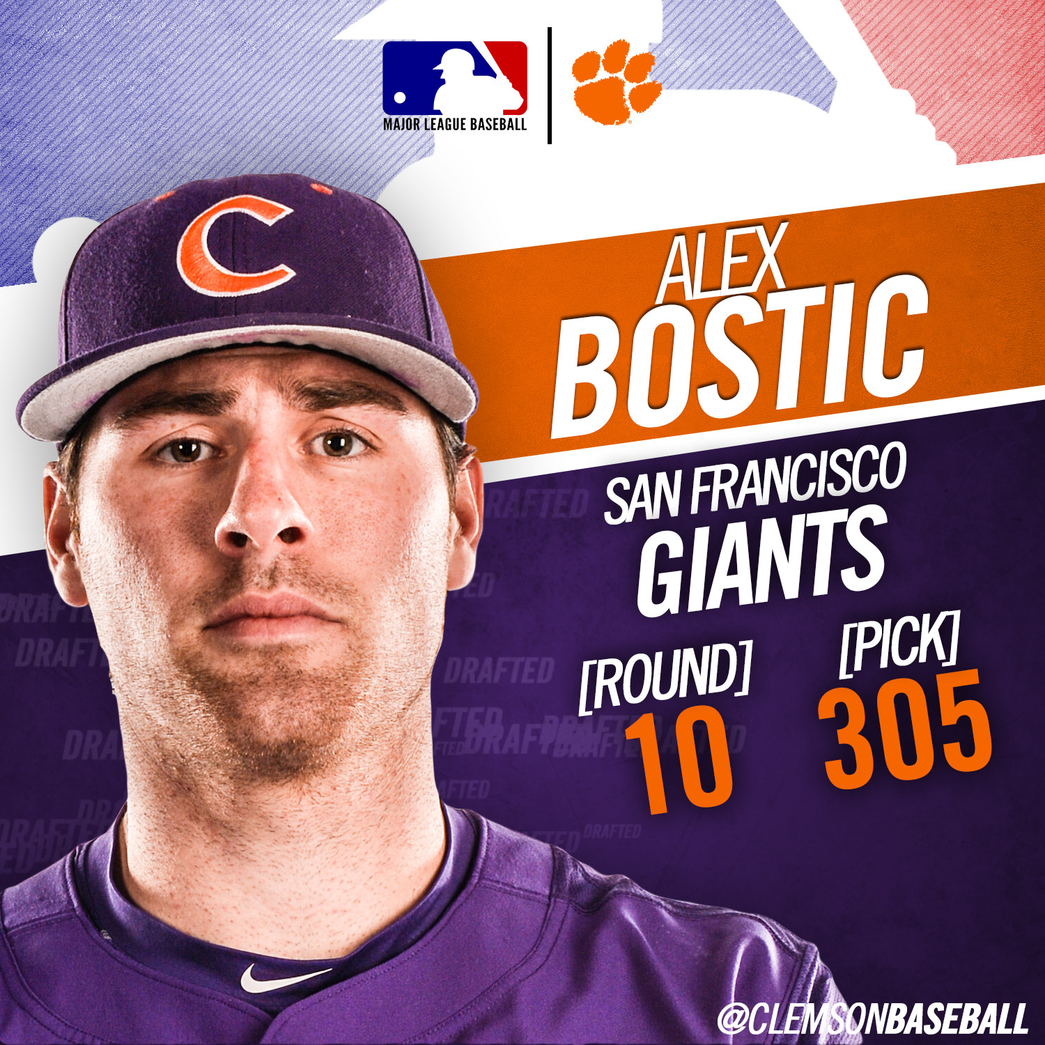 Bostic Drafted in 10th Round
