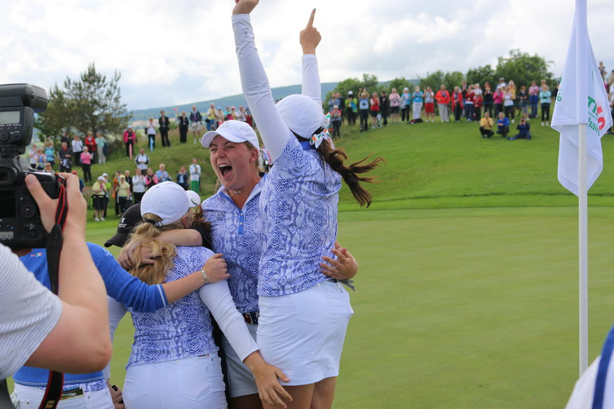 Hewson and GB&I Team Win Curtis Cup