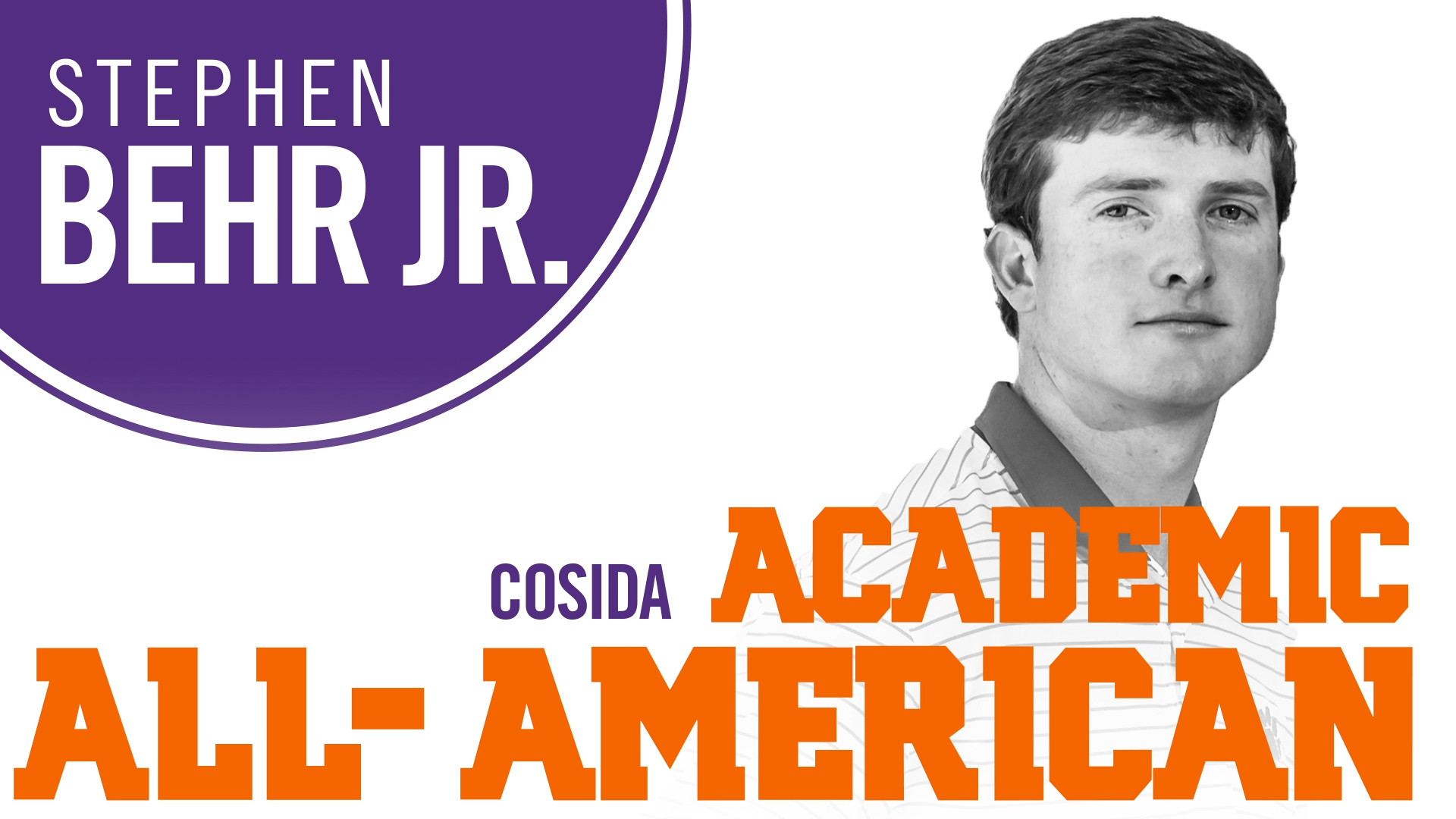 Behr Named First-Team Academic All-American