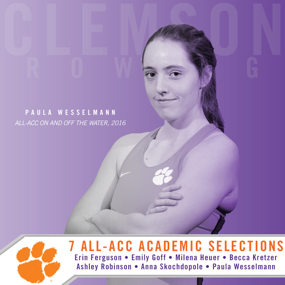 Seven Tigers Named All-ACC Academic