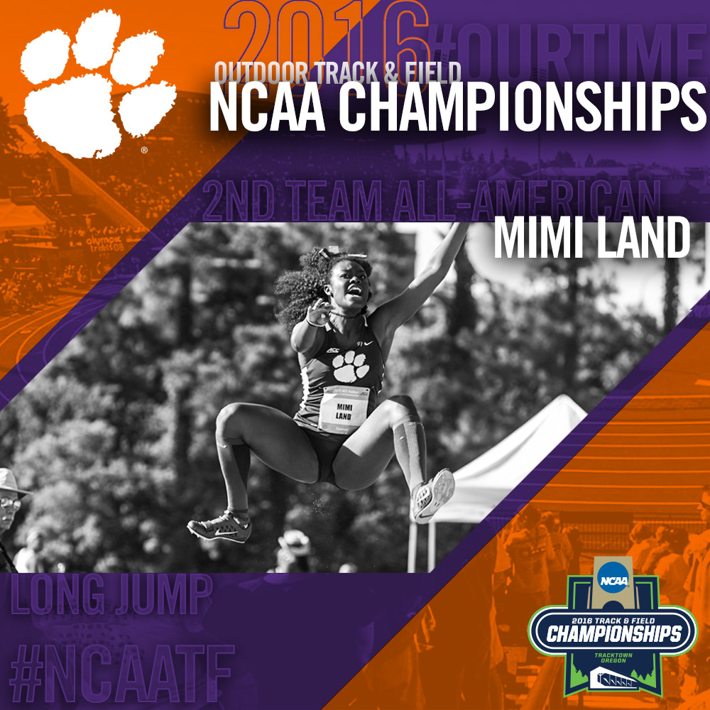 Mimi Land Earns All-America Status