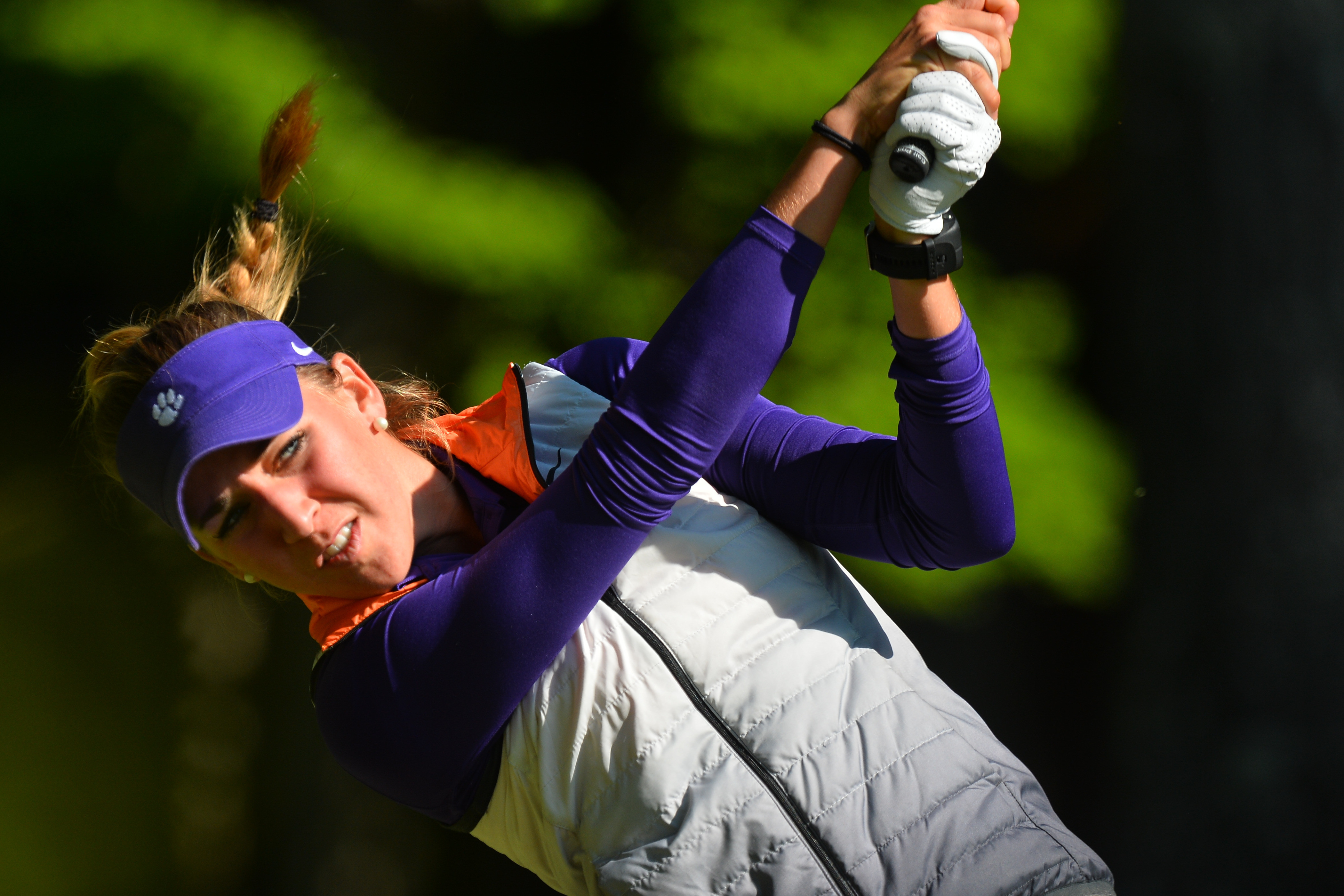 Clemson in Third Place Entering Final Round in Oklahoma