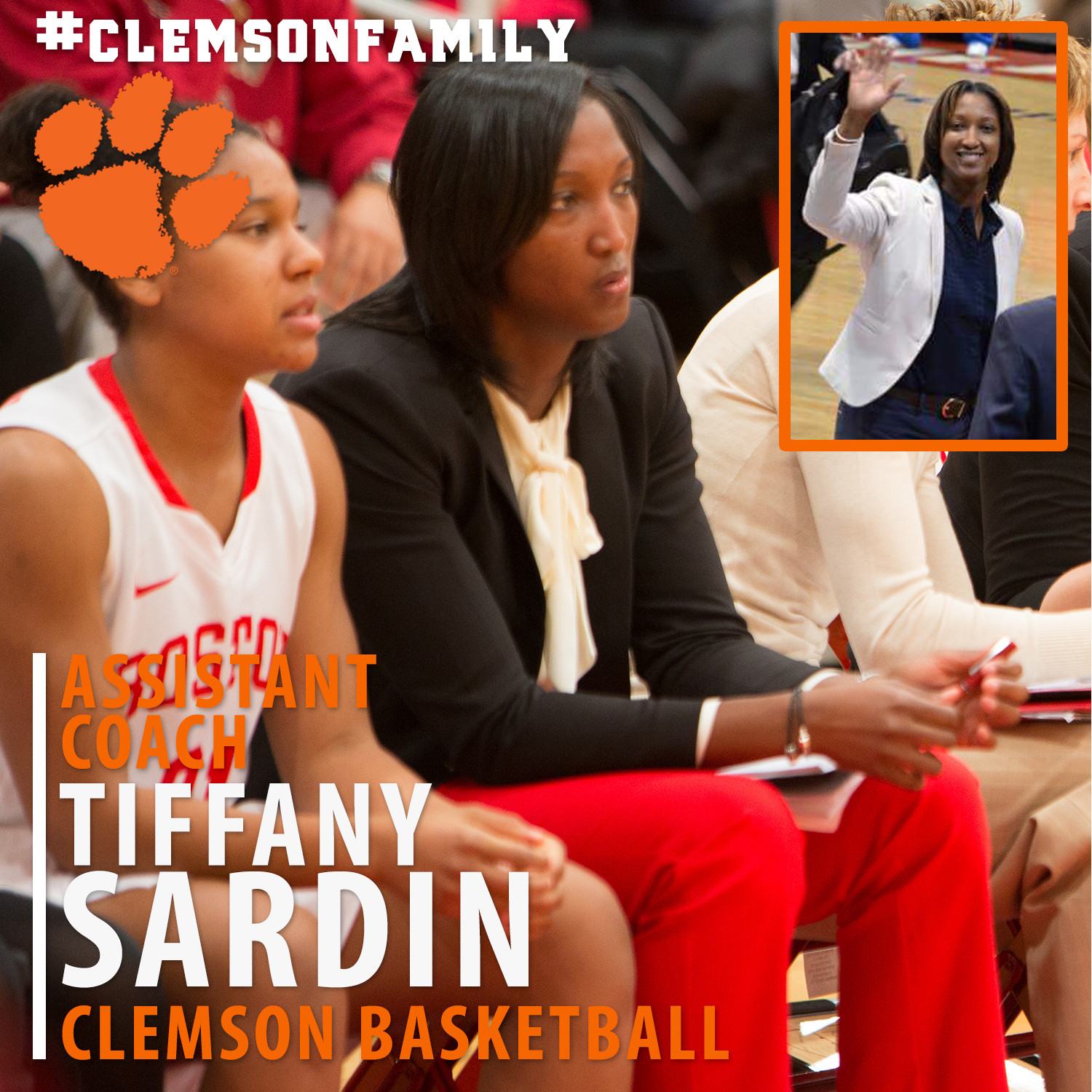 Sardin Joins Staff as Assistant Coach