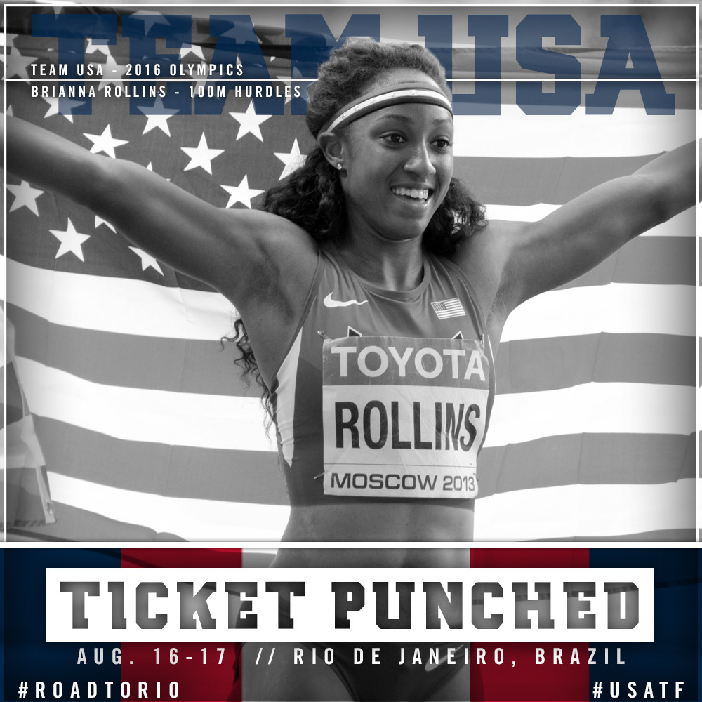 Rollins Earns Bid to Olympics
