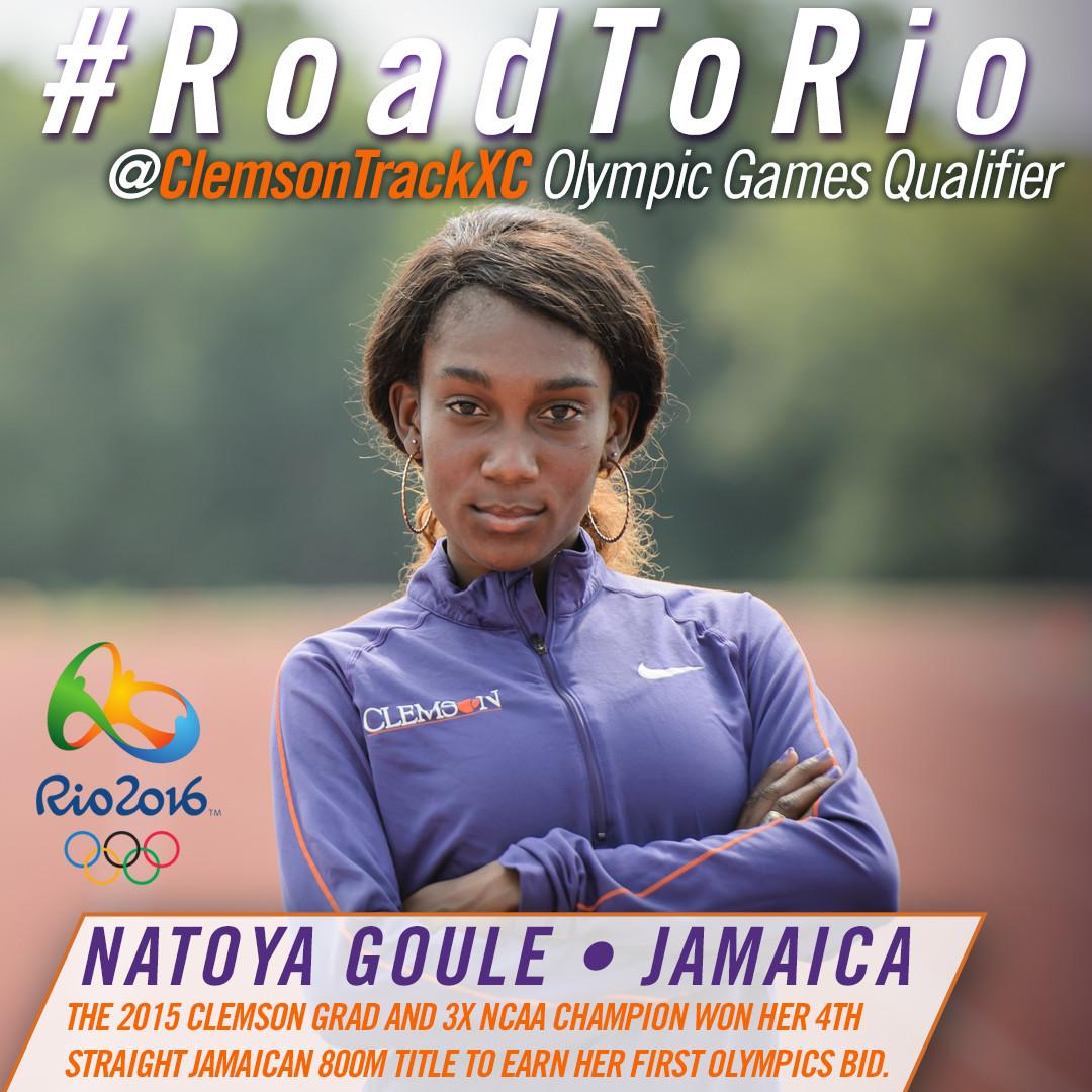Goule Earns Spot in Rio Olympics