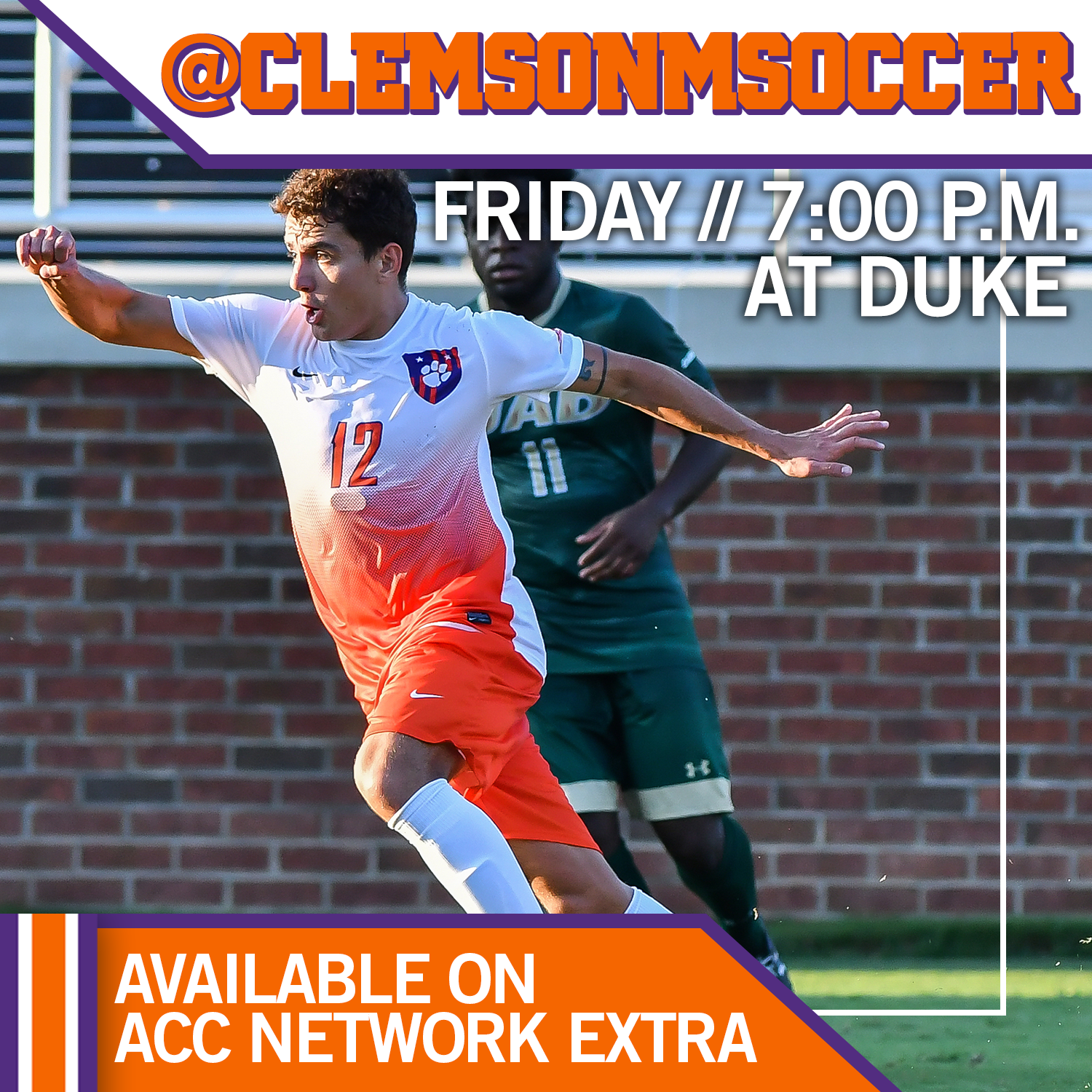 Clemson Travels to Duke for Final Exhibition Match