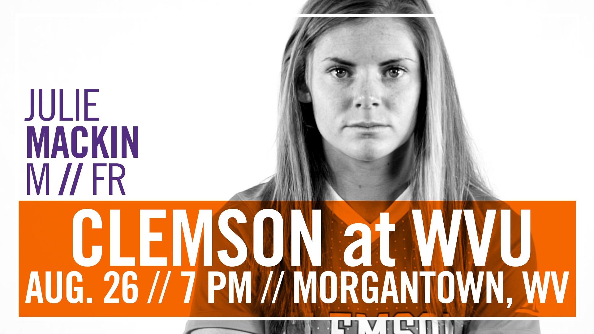 No. 8 Clemson Faces No. 7 West Virginia in Morgantown Friday