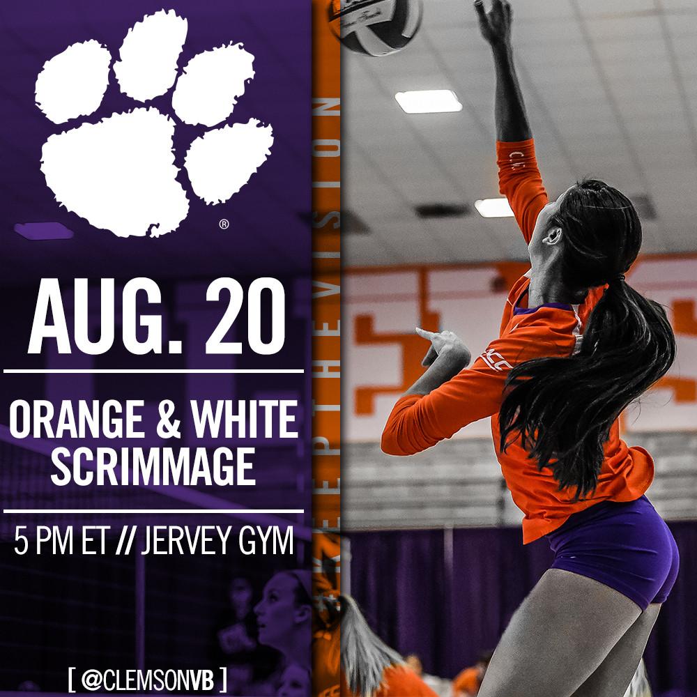 Orange & White Scrimmage Set For August 20