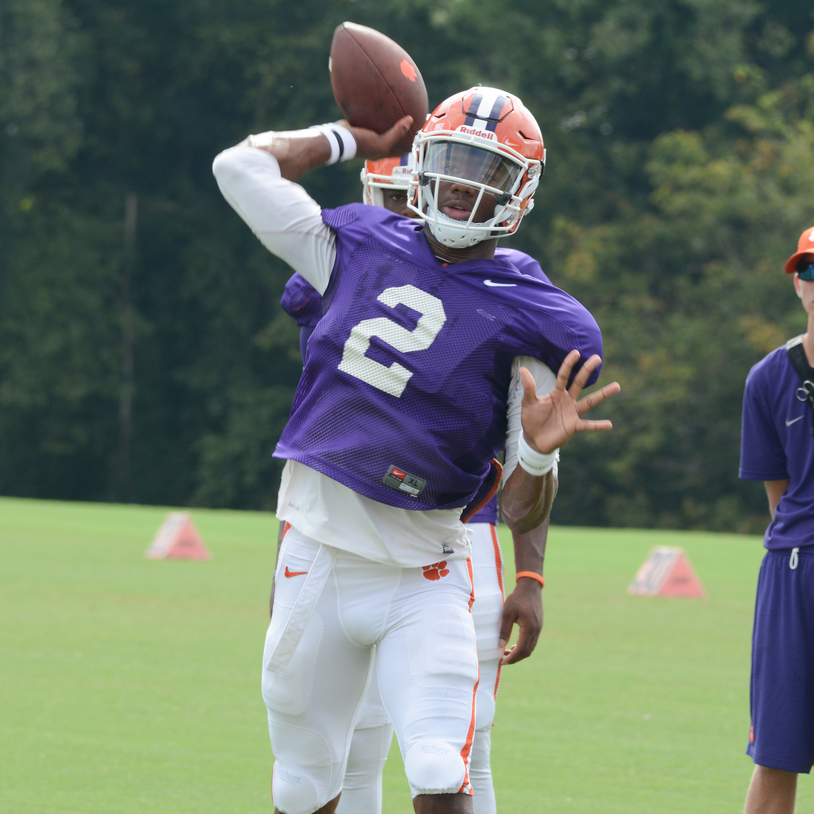 Clemson Holds Final Stadium Scrimmage