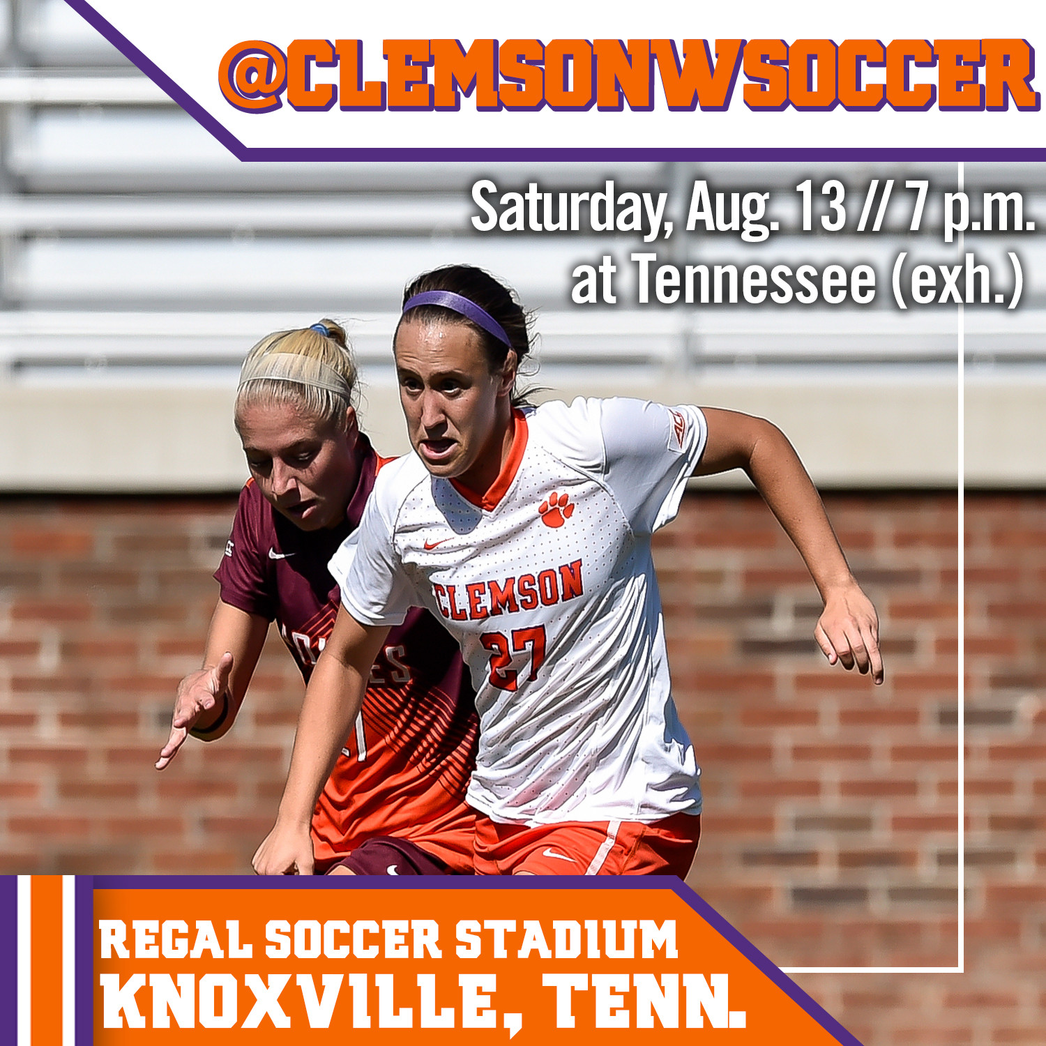 Tigers Head to Knoxville for Exhibition Match at Tennessee Saturday