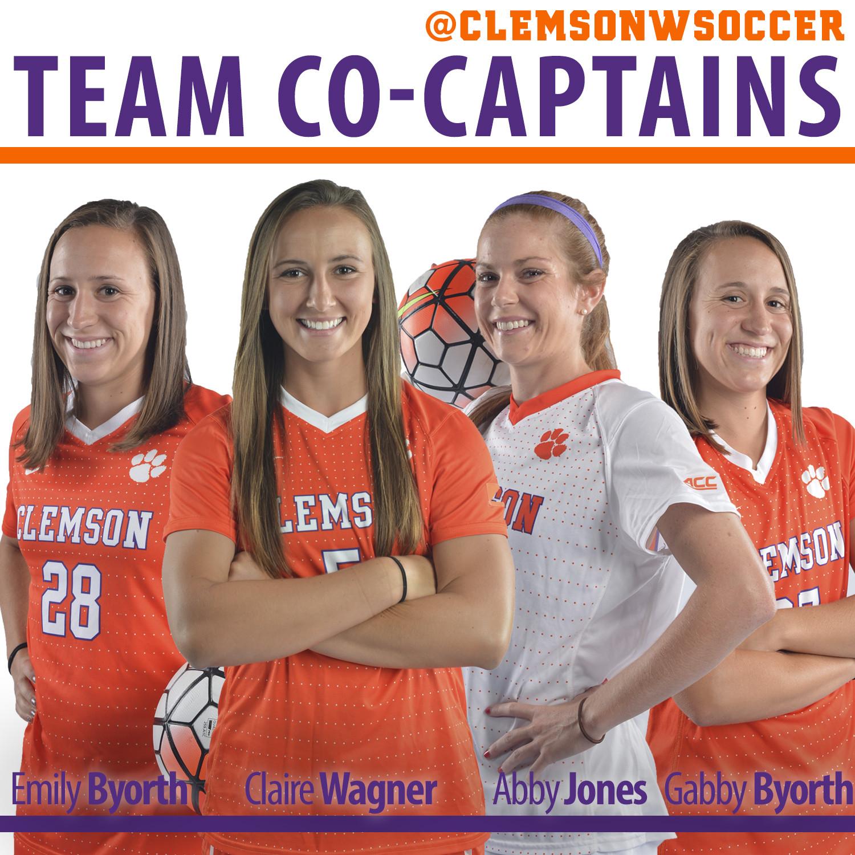 Clemson Women?s Soccer Names Team Captains