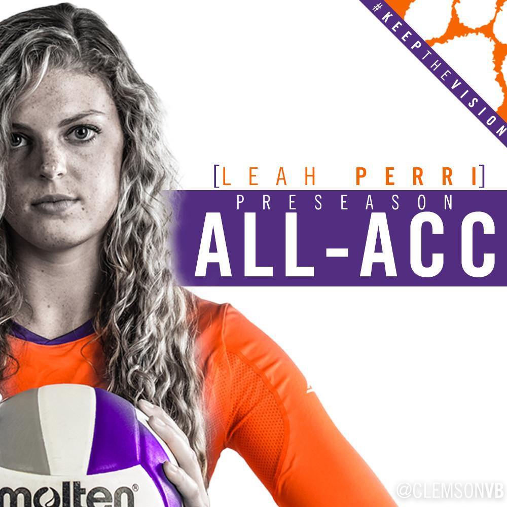 Perri Named To Preseason All-ACC Team