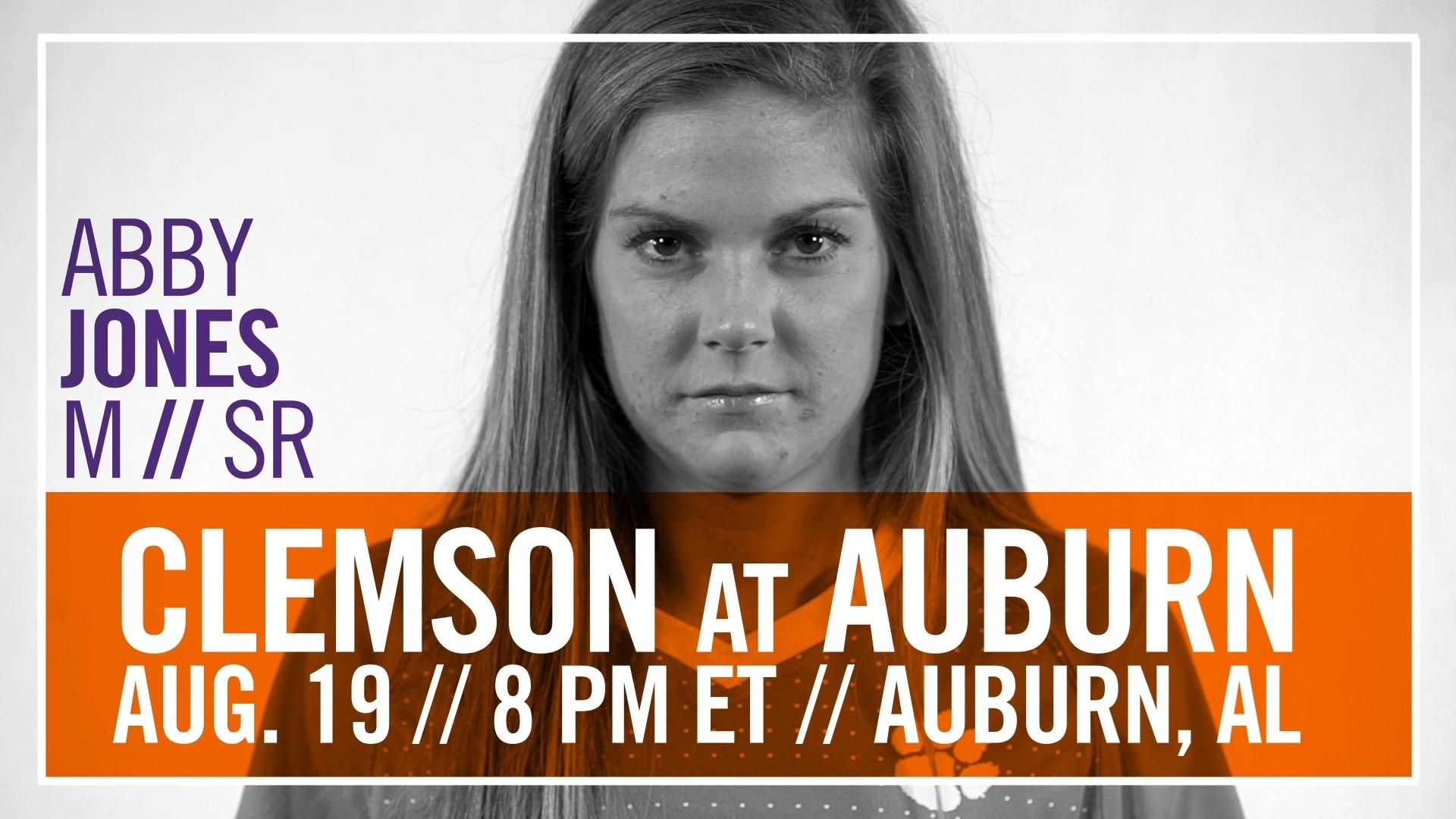 #10 Clemson Opens Season at #12 Auburn Friday