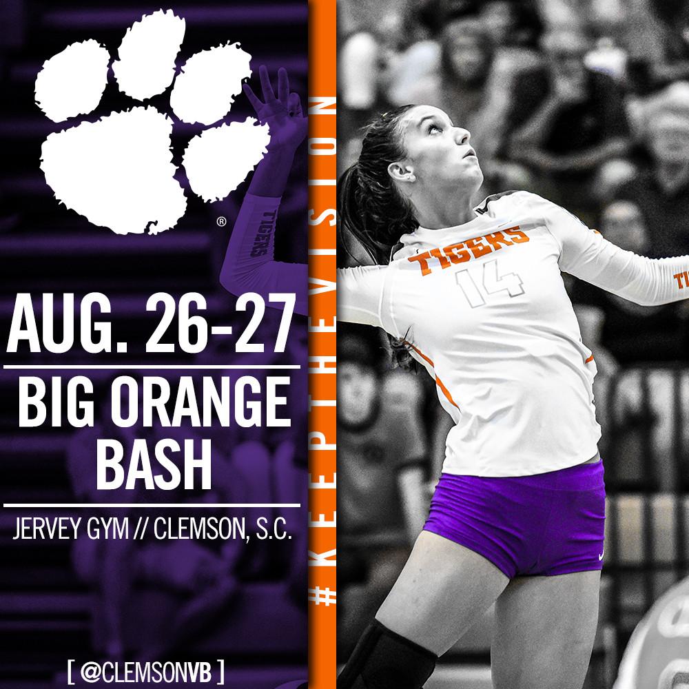 Volleyball Begins With Big Orange Bash