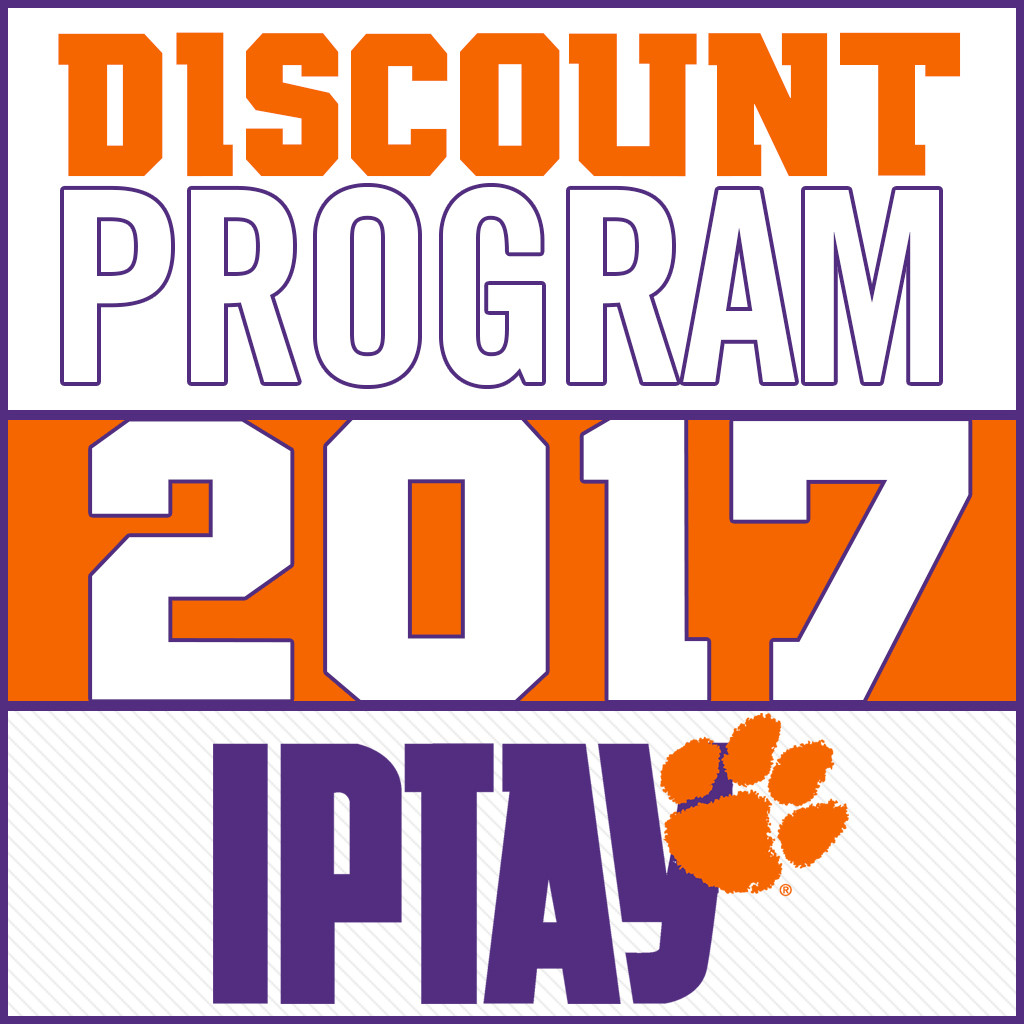 Don't Forget To Take Advantage Of The IPTAY Discount Program