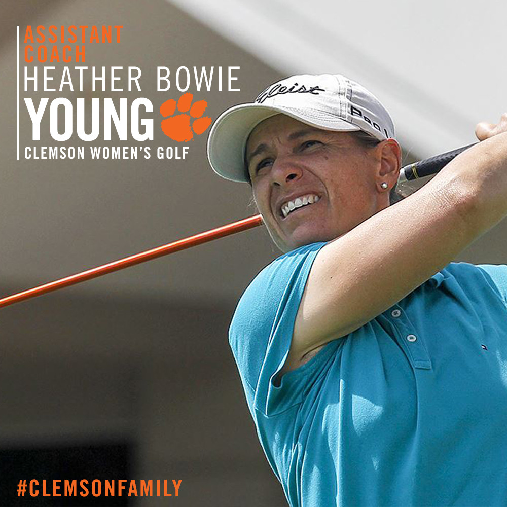 Heather Bowie Young Joins Women?s Golf Staff