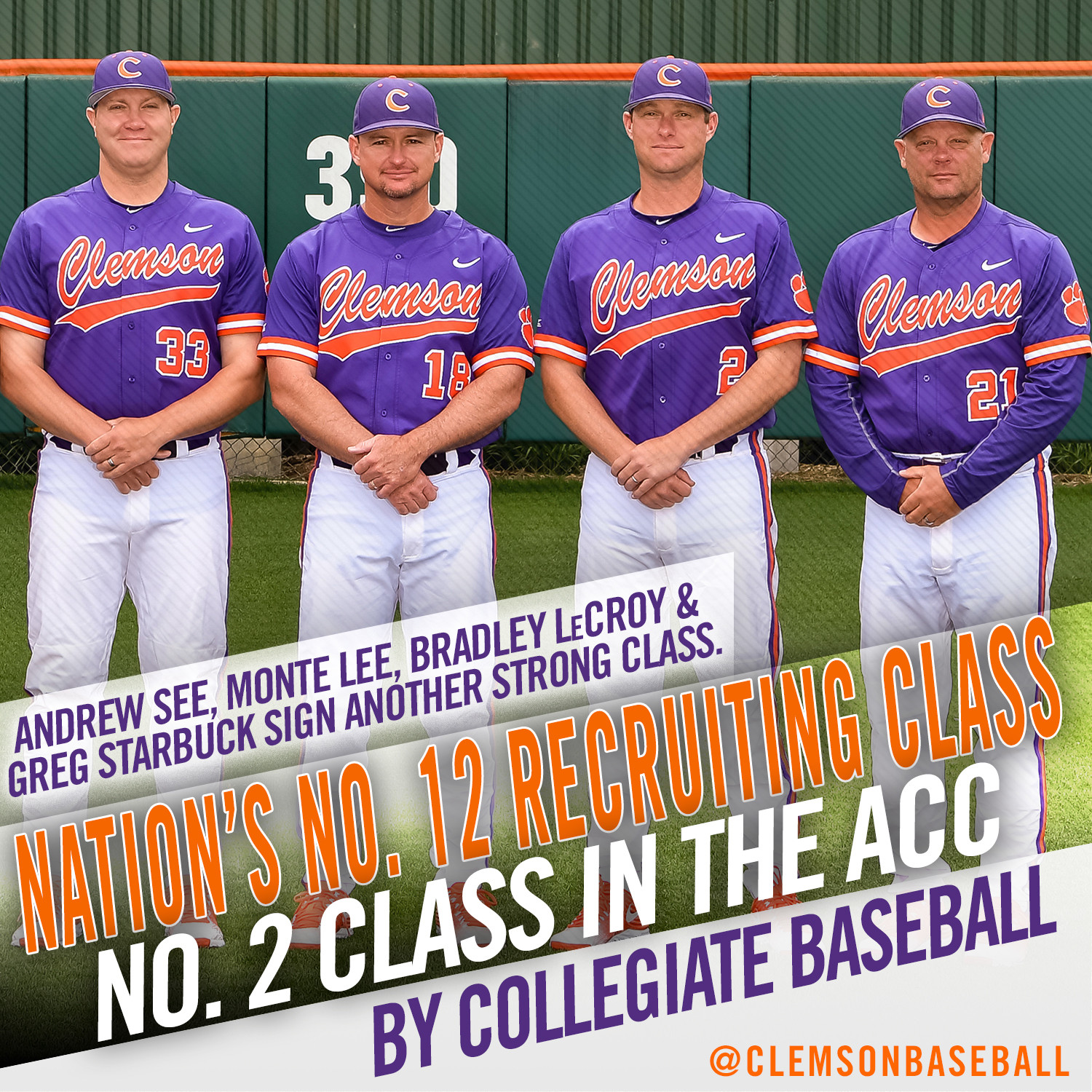 Recruiting Class Rated No. 12